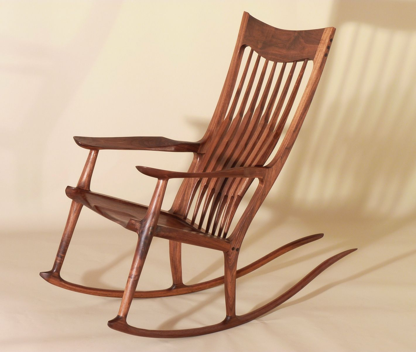 Mission Style Rocking Chair: History And Designs | Homesfeed Intended For Elegant Tobacco Brown Wooden Rocking Chairs (#11 of 20)