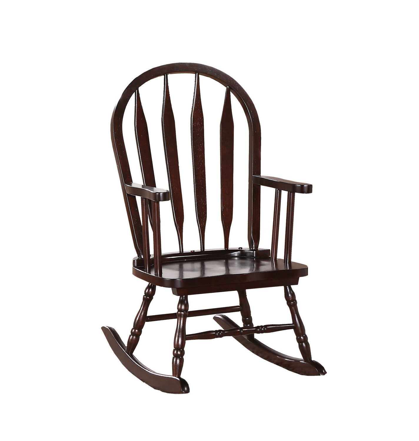 Inspiration about Monarch Specialties Rocking Chair | Walmart Canada With Cappuccino Curved Rocking Chairs (#20 of 20)