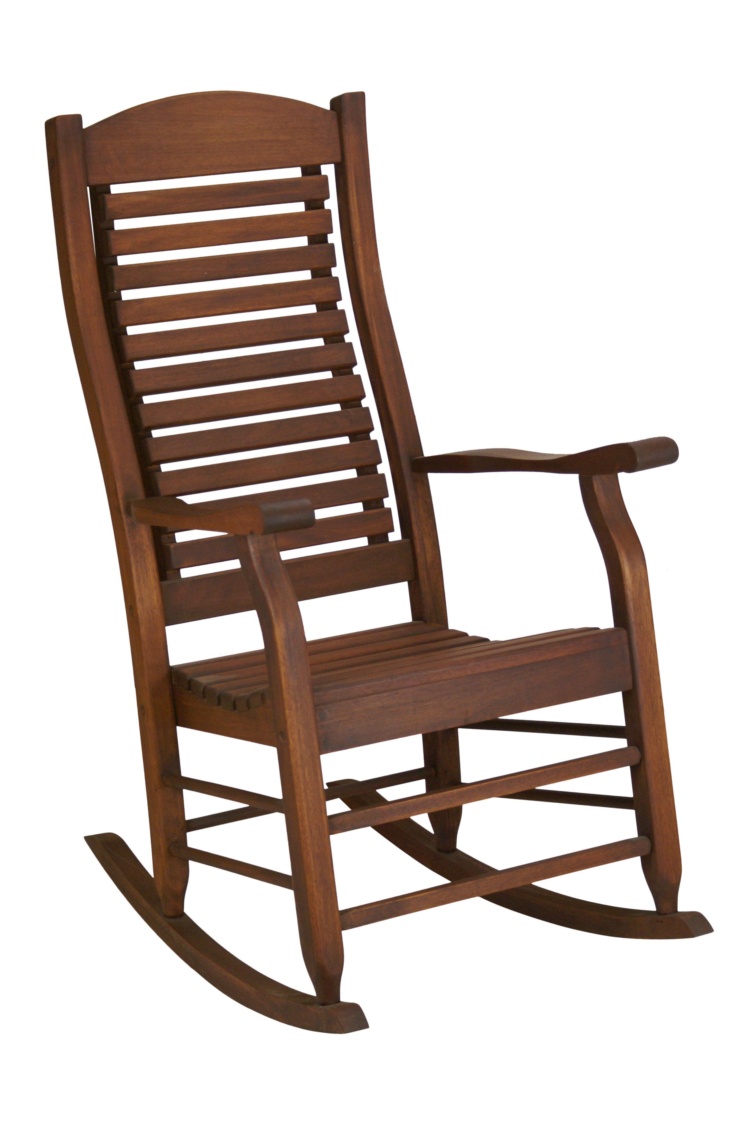 Inspiration about Mossman Slat Back Rocking Chair With Regard To Warm Brown Slat Back Rocking Chairs (#9 of 20)