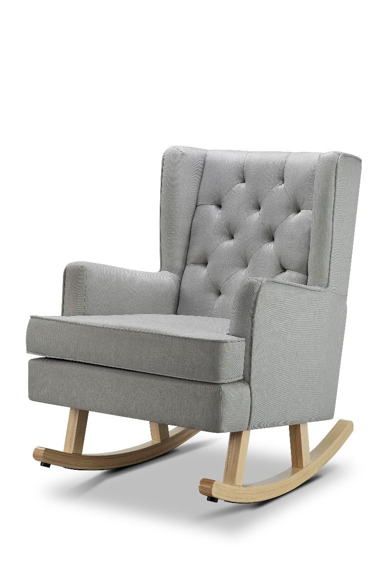 Nested Soothe Easy Rocking Chair – Cool Icey Grey Within Rocking Chairs & Lounge Chairs In Grey (View 10 of 20)