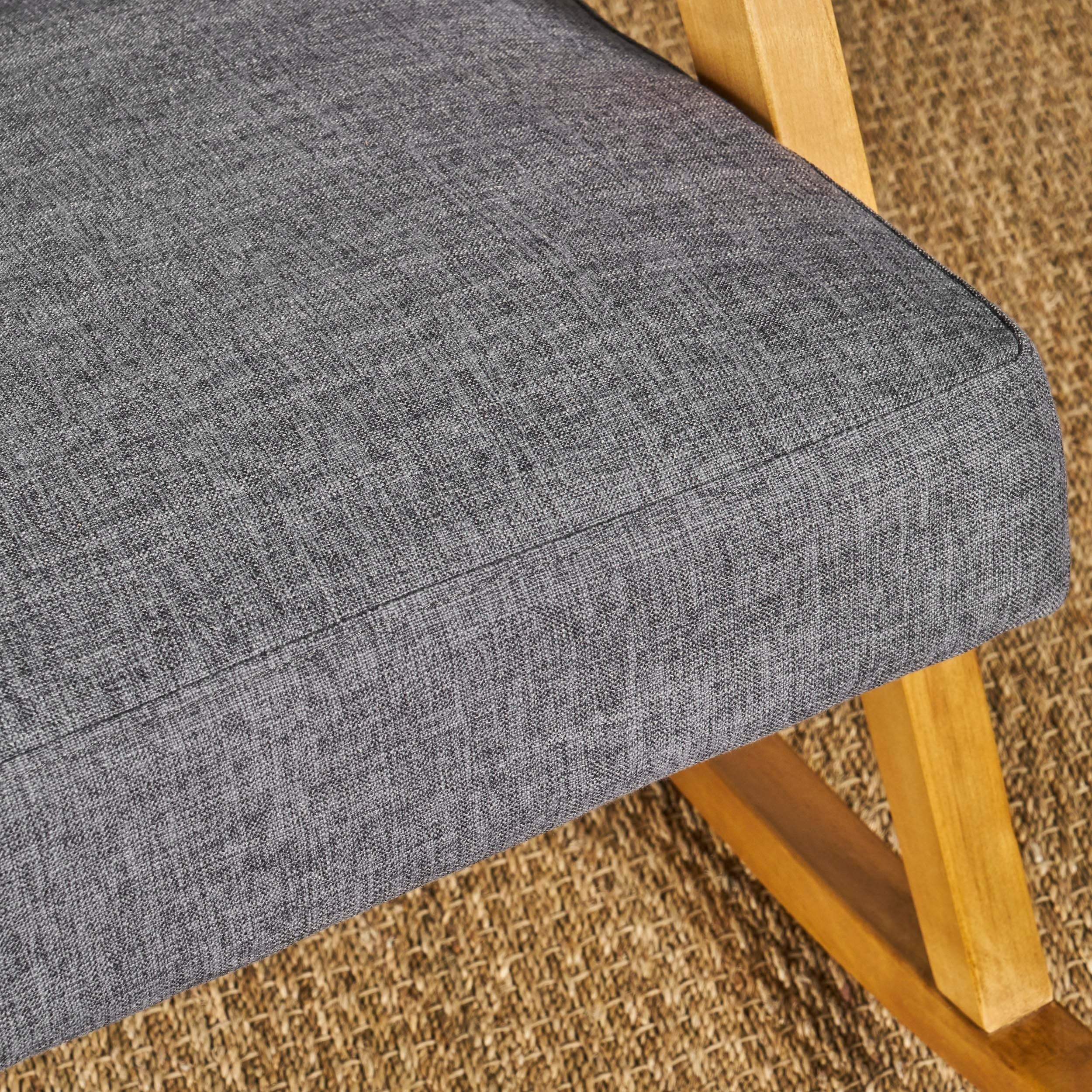 Nevies Mid Century Modern Fabric Rocking Chairchristopher Knight Home Intended For Nevies Mid Century Modern Fabric Rocking Chairs (#13 of 20)