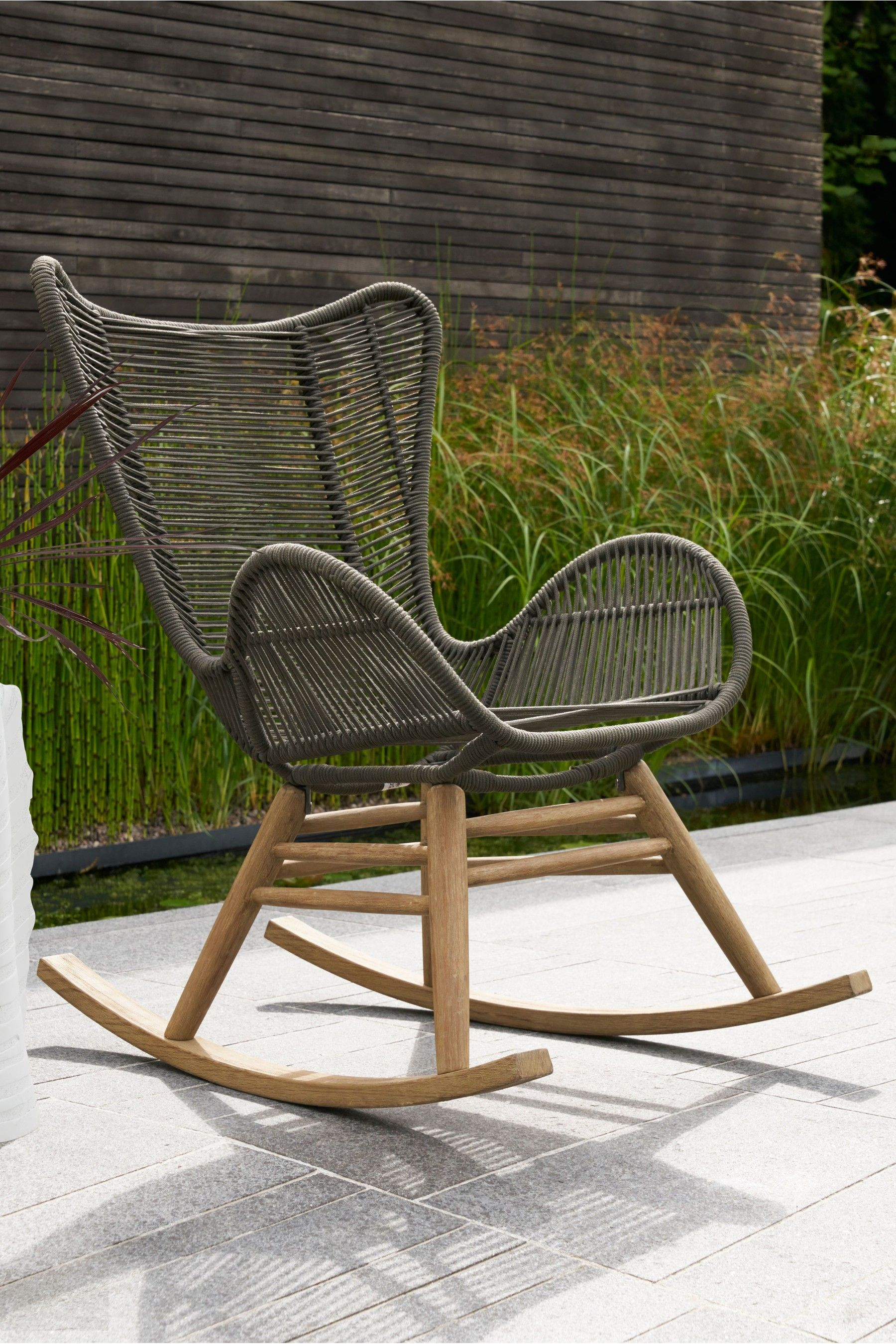 Next Bali Rocking Chair   Products In 2019   Rocking Chair Intended For Bali Brown Rocking Chairs (View 11 of 20)