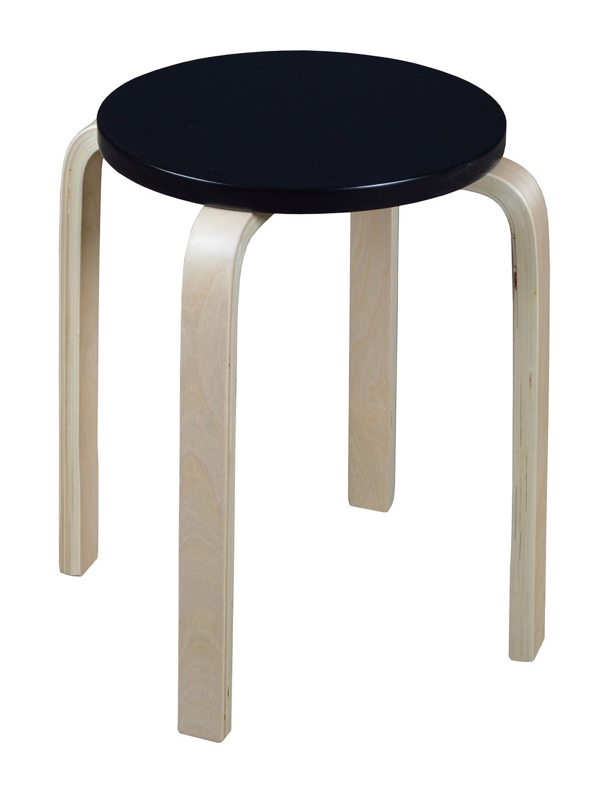 Niche Mia Bentwood Stool  Natural/black With Regard To Mia Bentwood Chairs (#13 of 20)