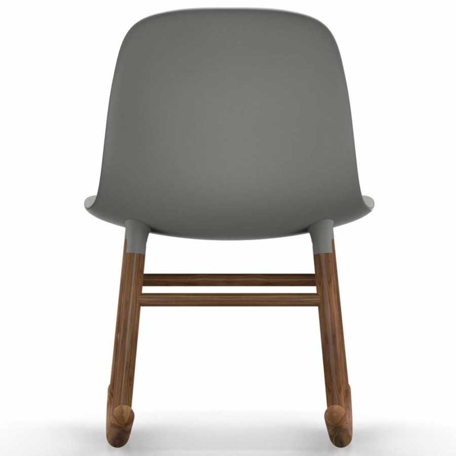 Normann Copenhagen Form Rocking Chair – Walnut Pertaining To Dark Walnut Rocking Chairs (View 19 of 20)