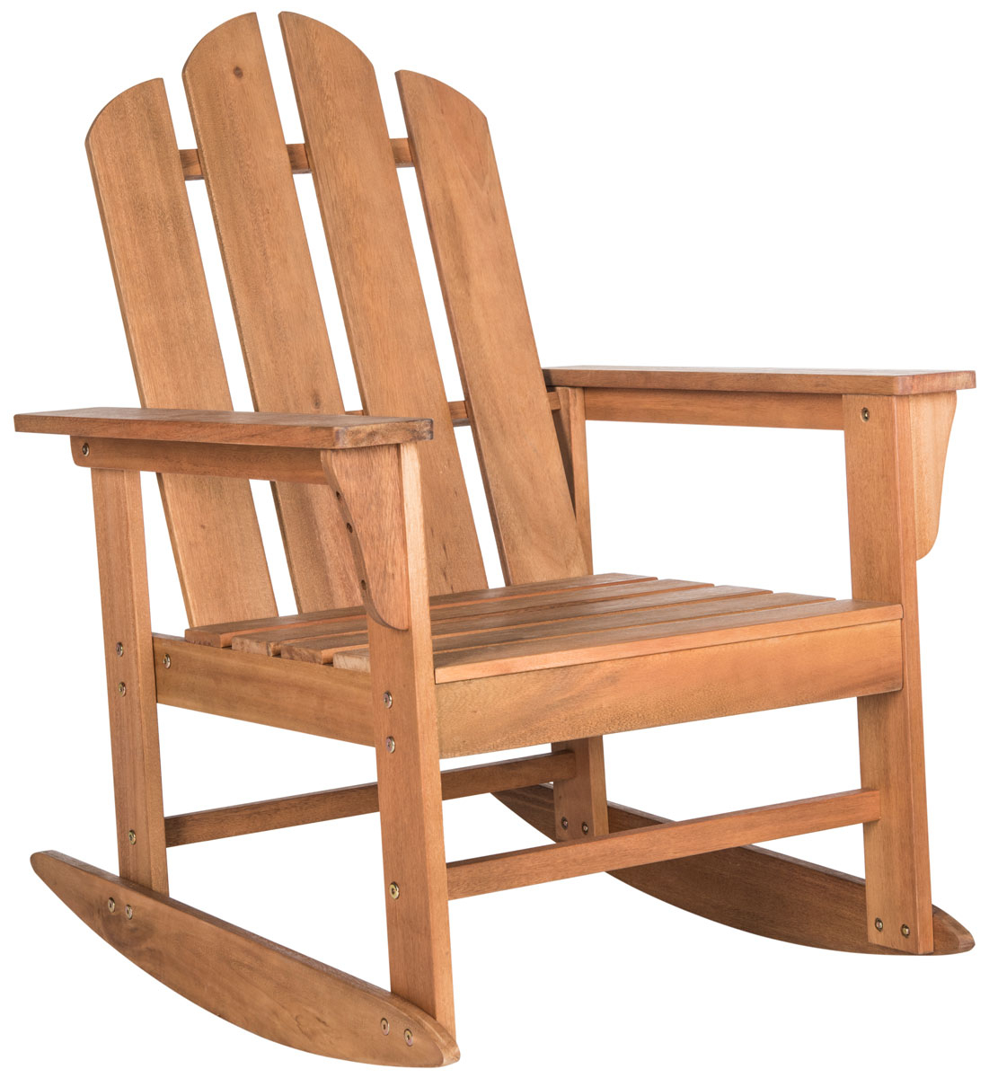 Outdoor Rocking Chair | Patio Furniture – Safavieh Regarding Luxury Mission Style Rocking Chairs (#17 of 20)
