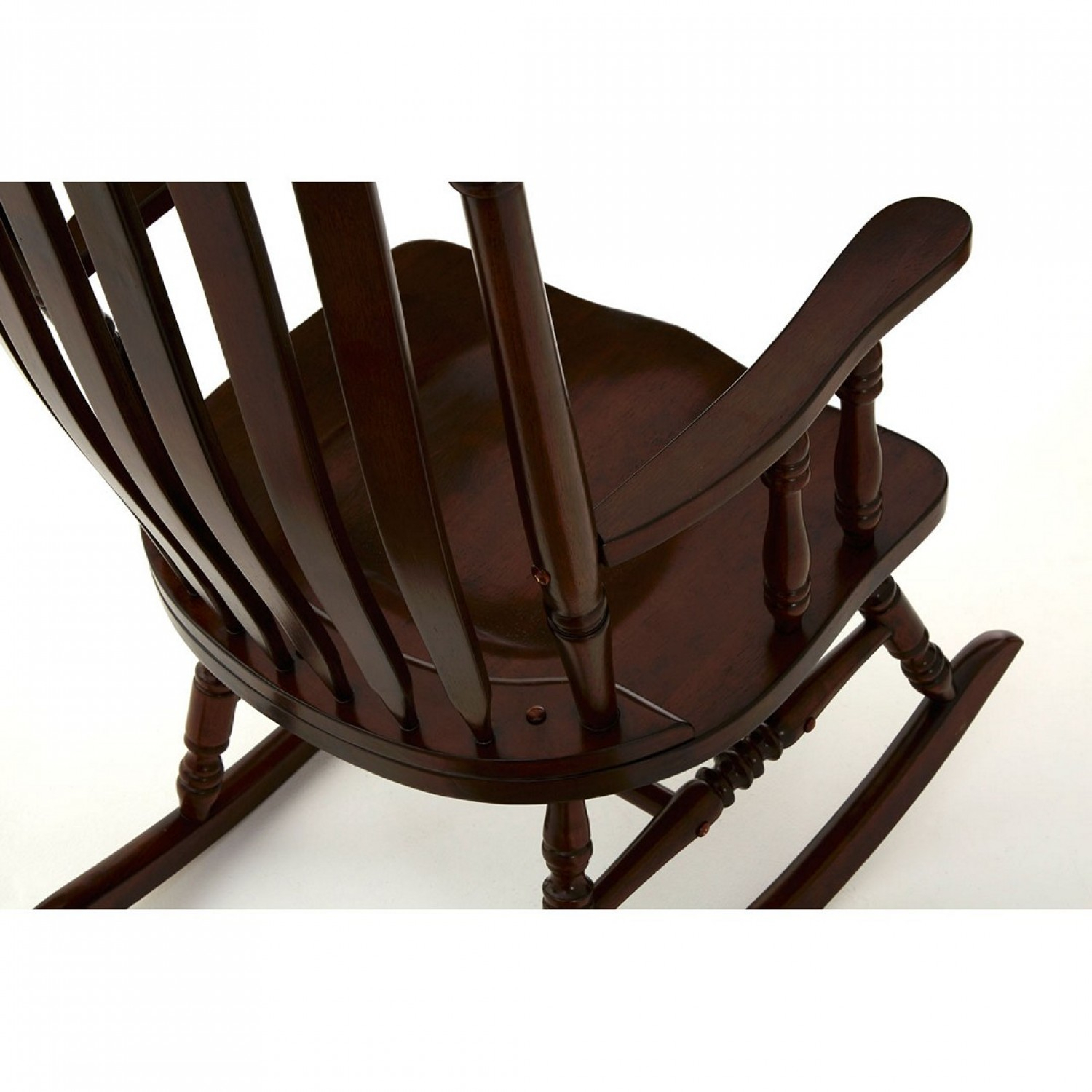 Own This Traditional Rocking Chair, Espresso Colour, Plywood Intended For Brady Traditional White Rocking Chairs (#12 of 20)