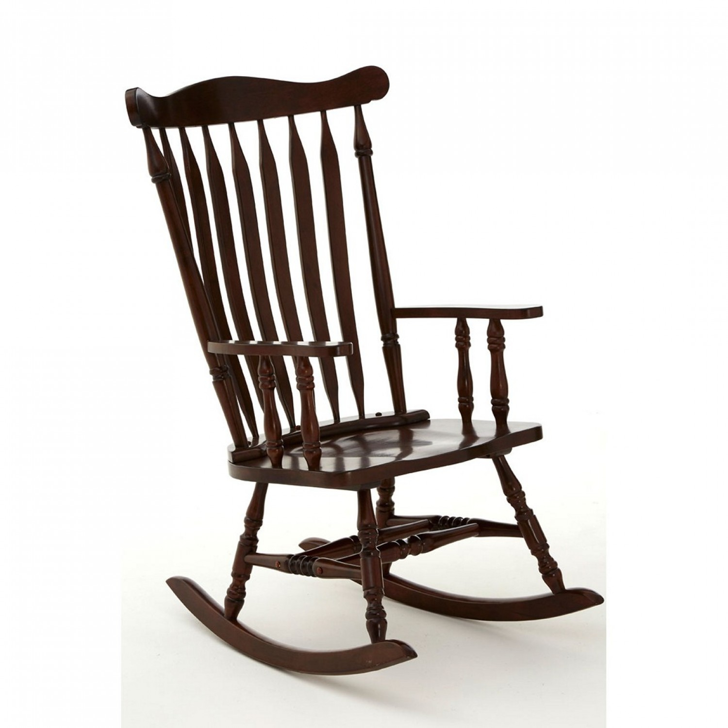 Own This Traditional Rocking Chair, Espresso Colour, Plywood Pertaining To Brady Traditional White Rocking Chairs (#13 of 20)