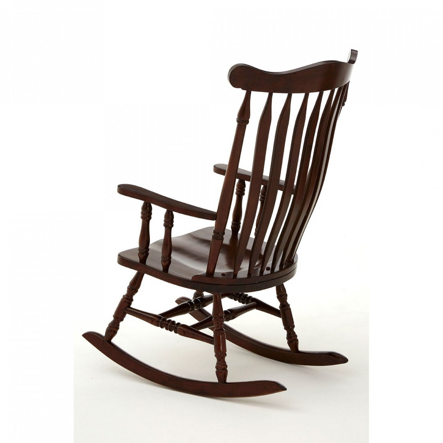 Own This Traditional Rocking Chair, Espresso Colour, Plywood With Brady Traditional White Rocking Chairs (#15 of 20)