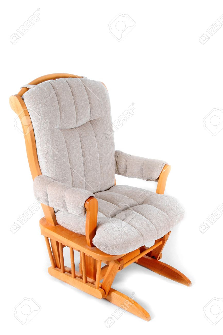 Padded Rocking Chair Pertaining To Padded Rocking Chairs (#14 of 20)