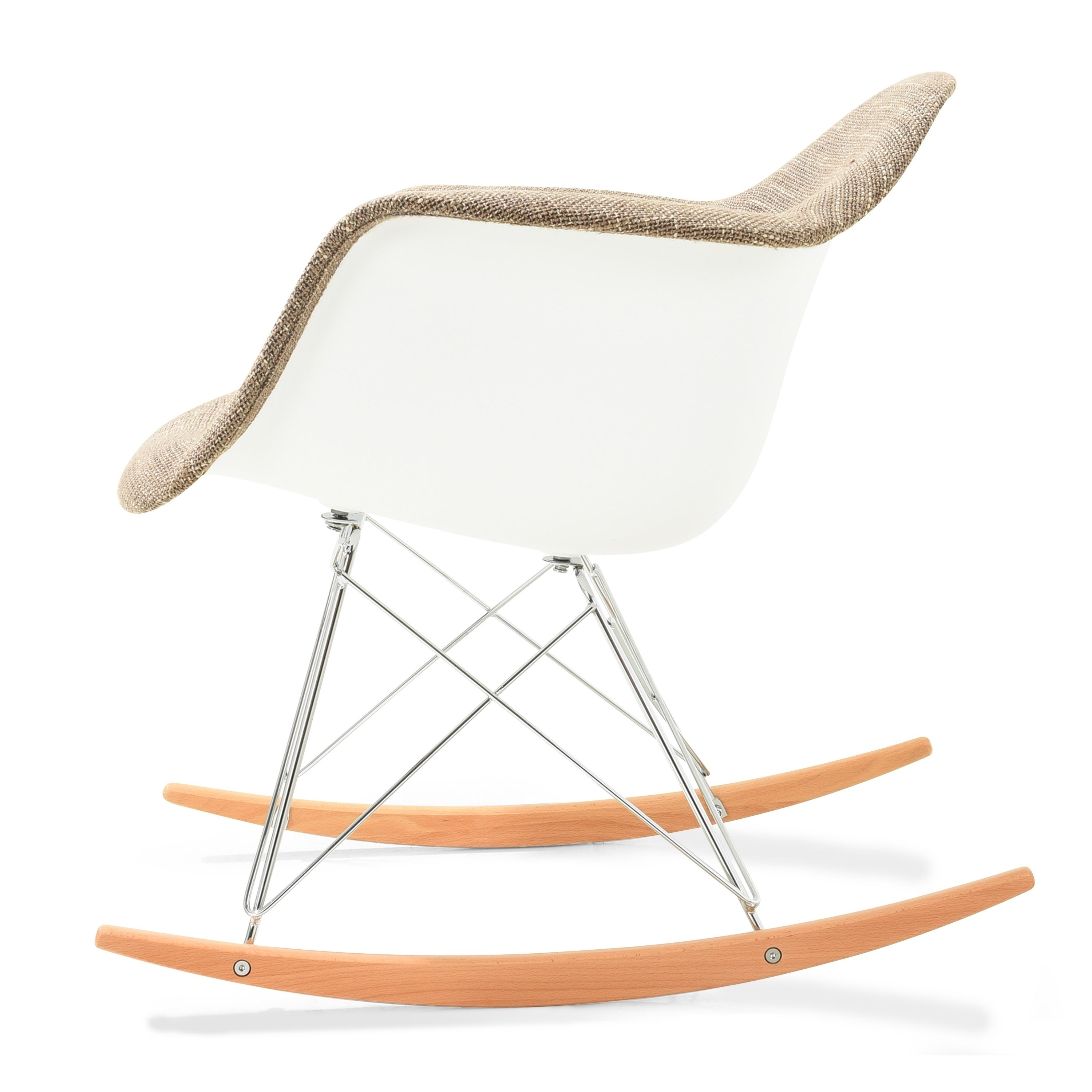 Inspiration about Poly And Bark Padded Rocker In Poly And Bark Patchwork Rocking Chairs (#4 of 20)