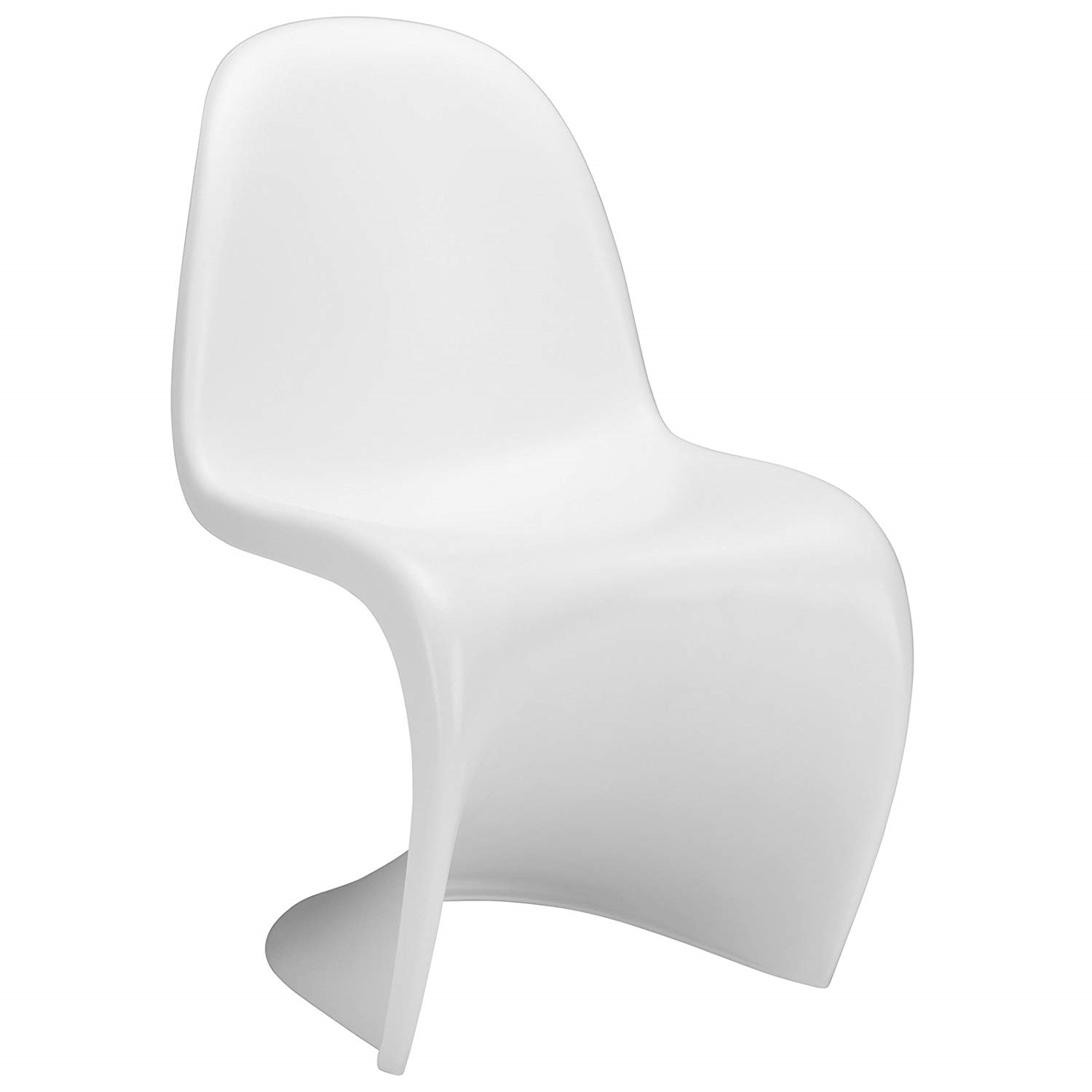 Poly And Bark Panton S Chair, White With Regard To Poly And Bark Rocking Chairs Lounge Chairs In Black (#11 of 20)