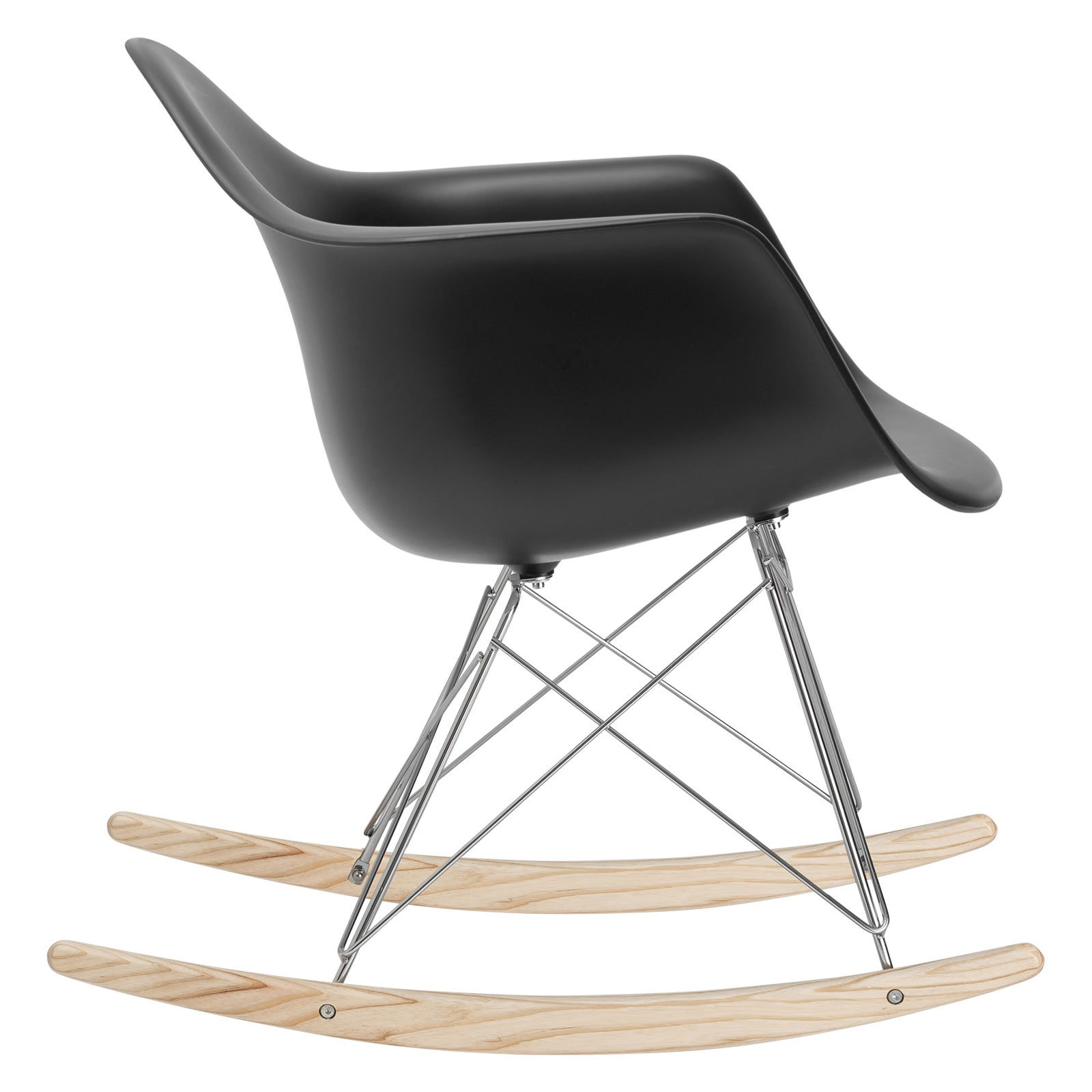 Inspiration about Poly And Bark Rocker Lounge Chair In Black Inside Poly And Bark Rocking Chairs Lounge Chairs In Black (#6 of 20)