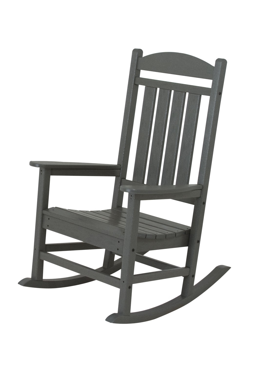 Inspiration about Polywood Presidential Recycled Plastic Rocking Chair In Black Plastic Rocking Chairs (#13 of 20)