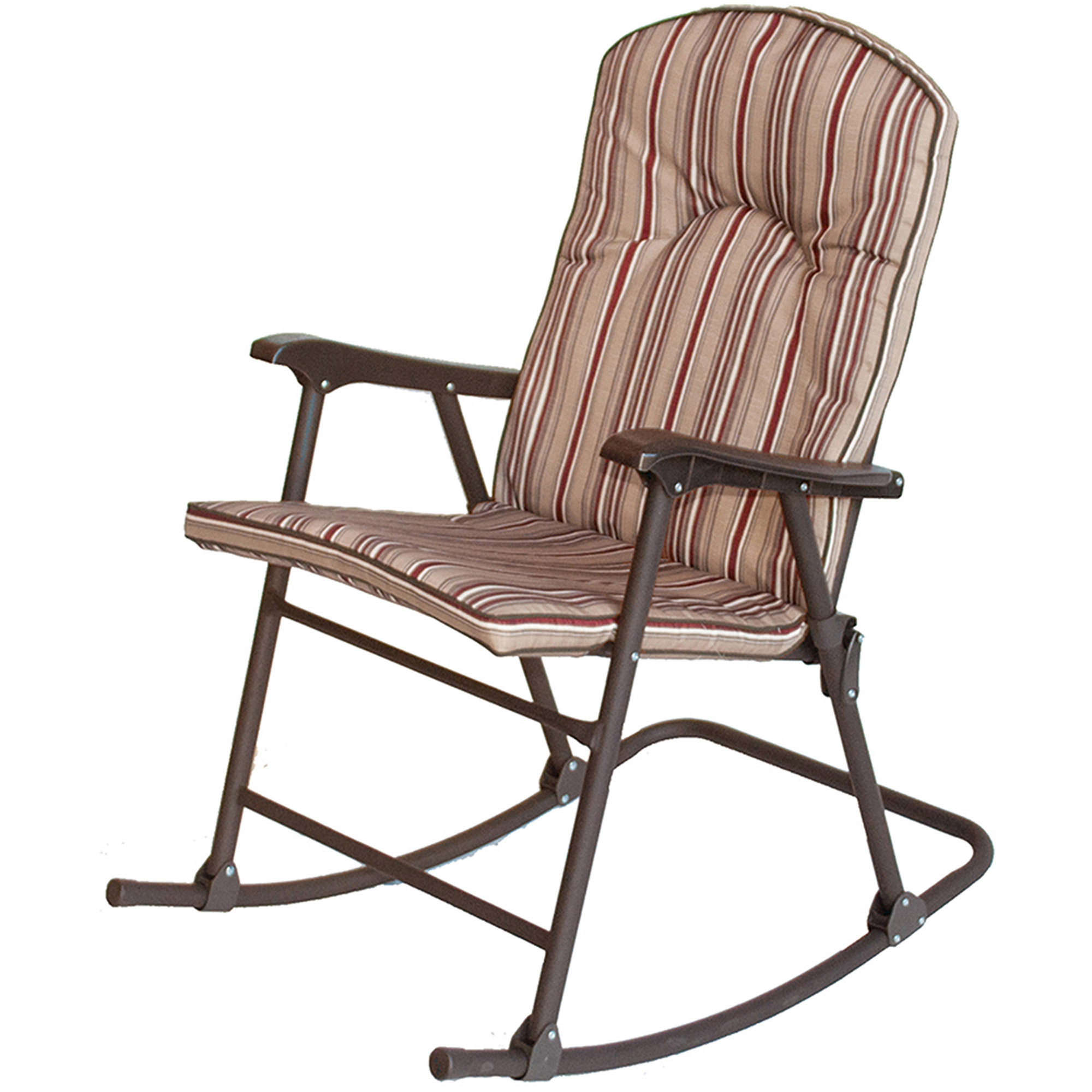 Prime Products Cambria Padded Rocker, Red Rock, 13 6803 For Padded Rocking Chairs (#15 of 20)