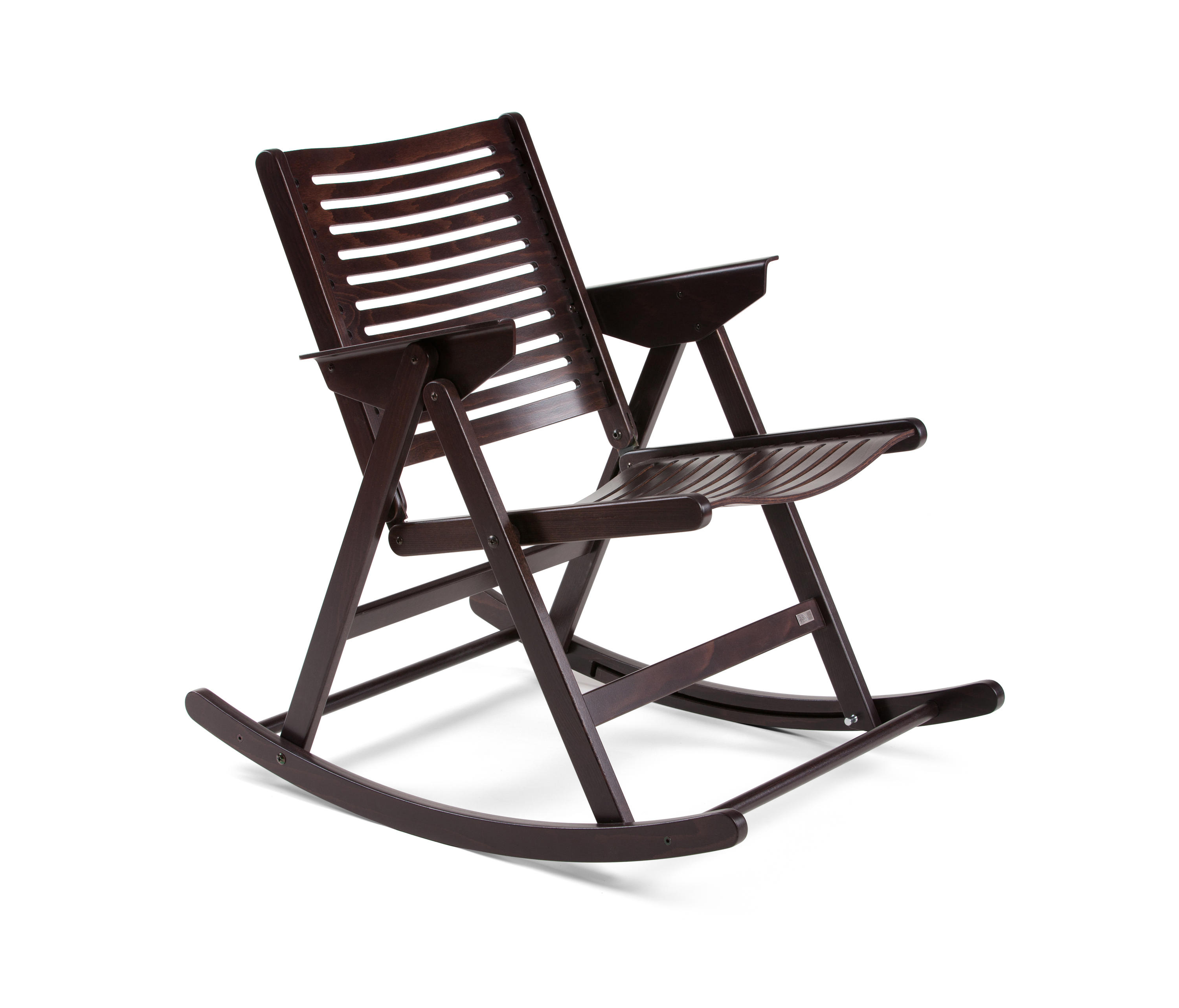 Inspiration about Rex Rocking Chair Dark Brown – Chairs From Rex Kralj With Dark Walnut Rocking Chairs (#16 of 20)