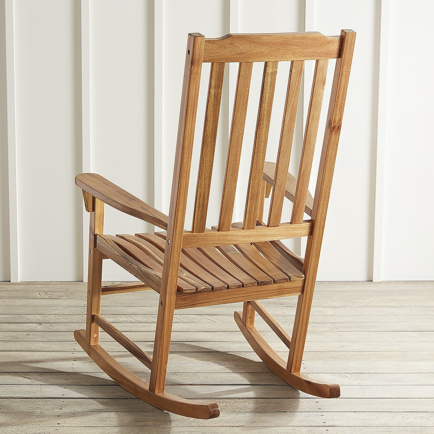 Rock Point Natural Rocking Chair | Products | Rocking Chair Pertaining To Natural Brown Wood Folding Rocking Chairs (#18 of 20)