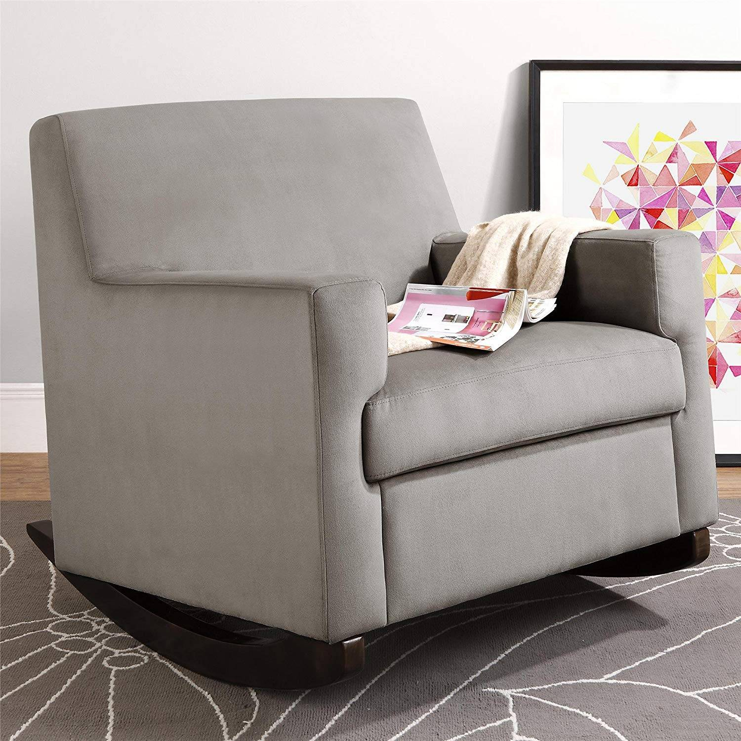 Inspiration about Rocker For Baby Room Recliner Nursery Small Rocking Chair Regarding Wooden Baby Nursery Rocking Chairs (#9 of 20)