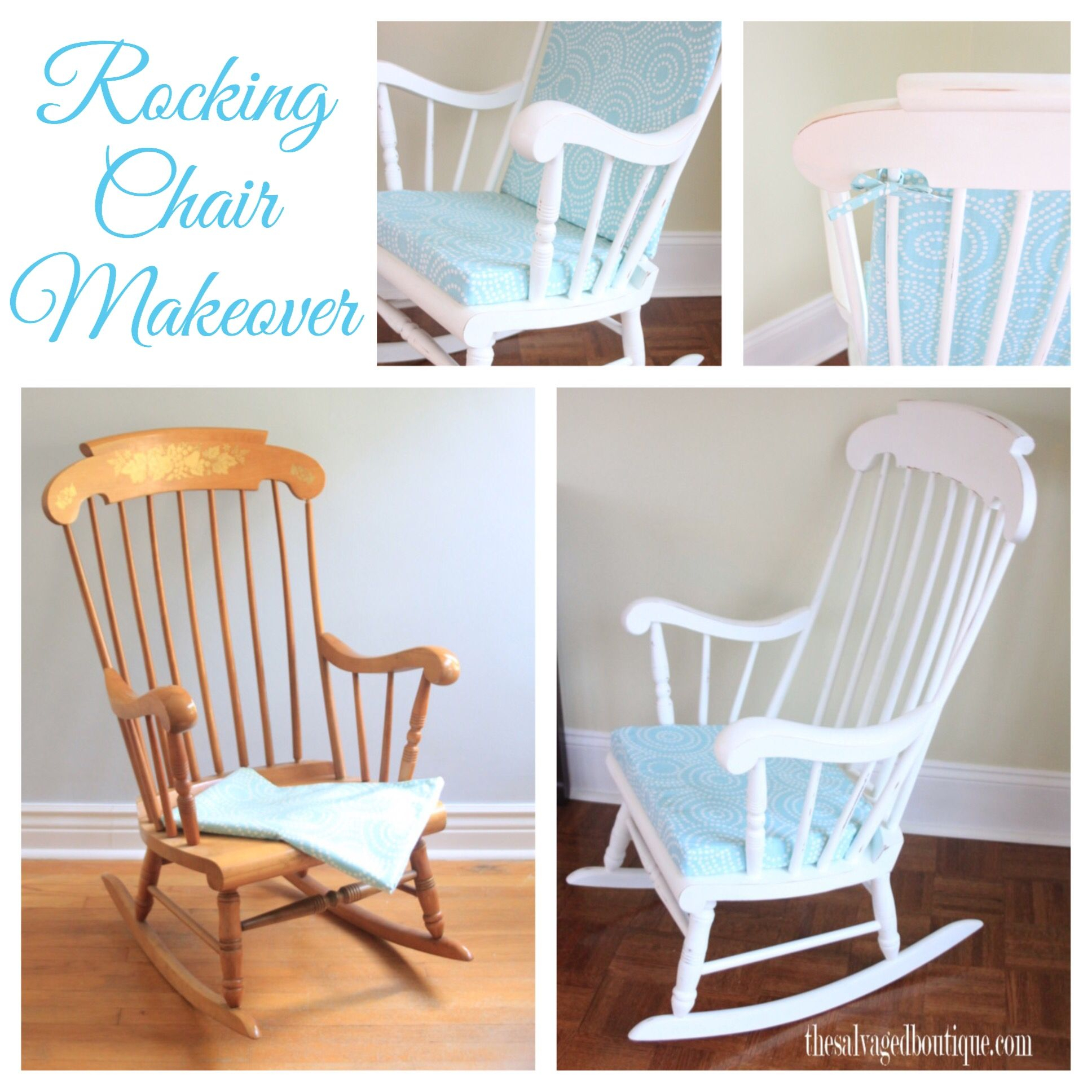 Inspiration about Rocking Chair & Glider | Maddys Room | Rocking Chair Nursery Intended For Antique White Wooden Rocking Chairs (#12 of 20)