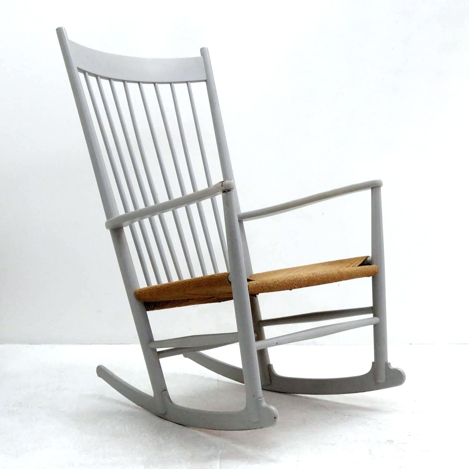 Inspiration about Rocking Chair Sale – Media2Go.co With Beige Fabric And Cherry Wood Rocking Chairs (#20 of 20)