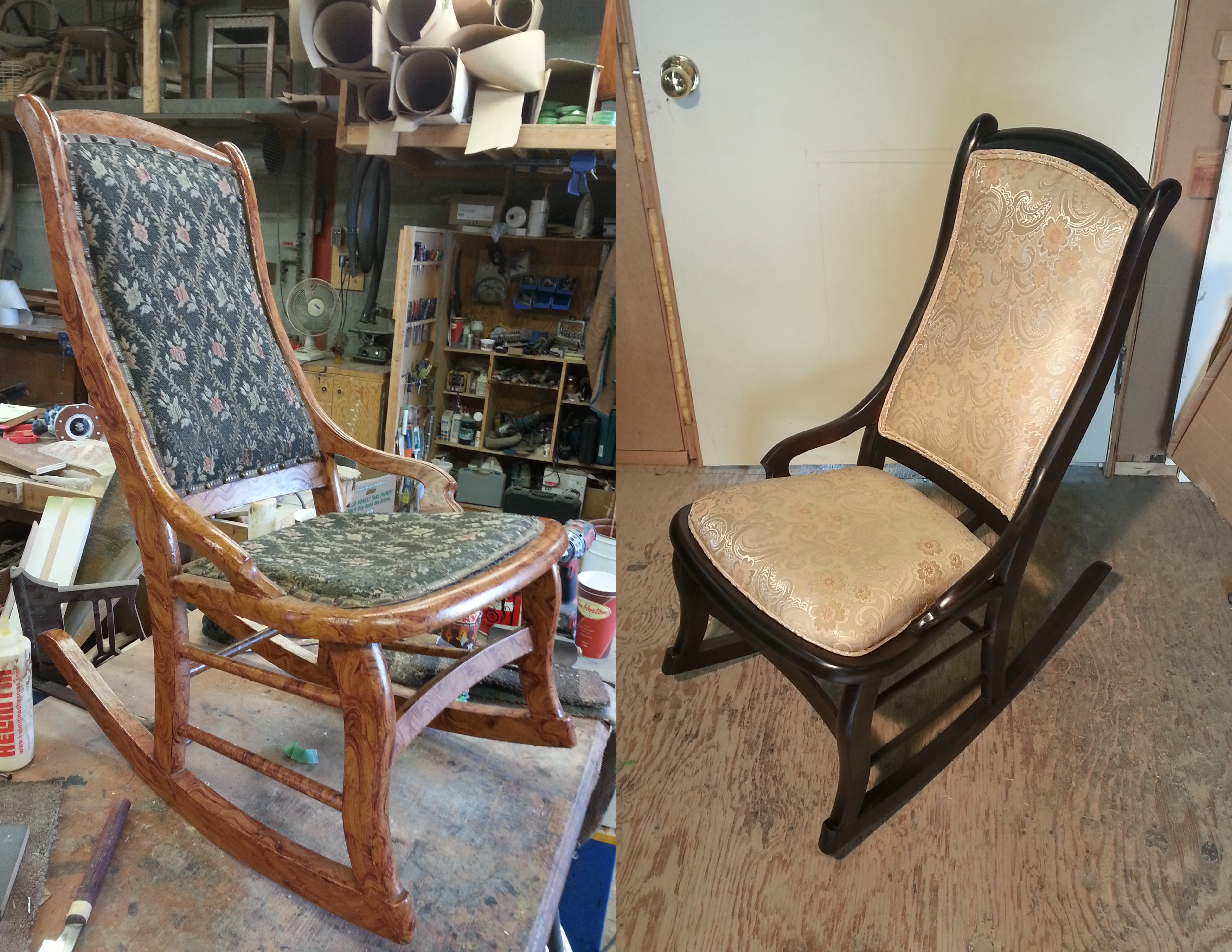 Rocking Chair – Sandra Dees For Dark Walnut Rocking Chairs (View 8 of 20)