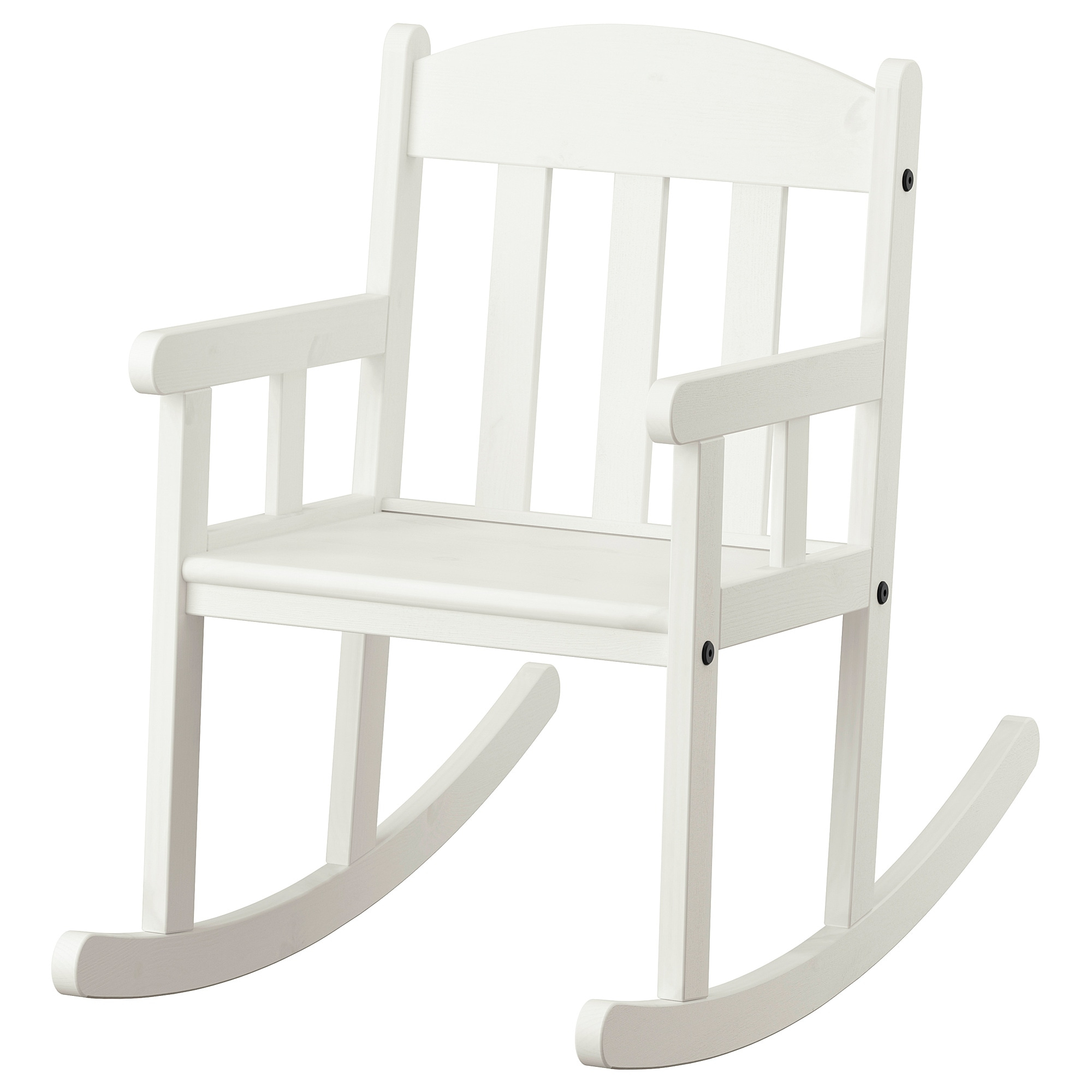 Inspiration about Rocking Chair Sundvik White Intended For White Wood Rocking Chairs (#20 of 20)