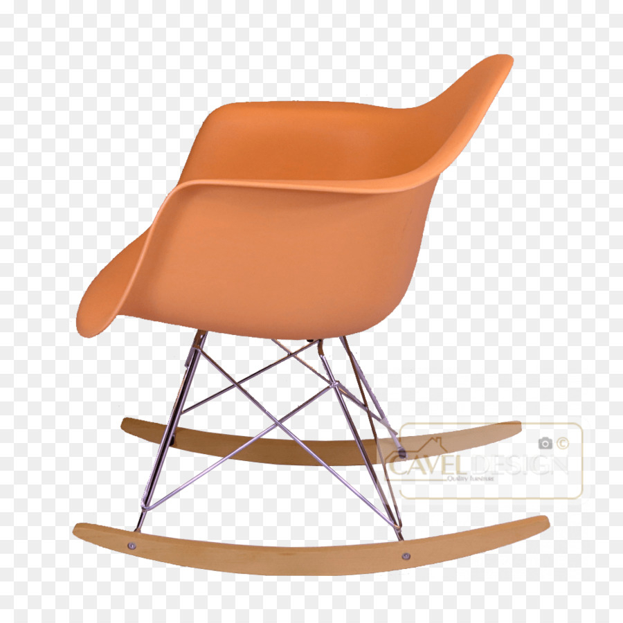 Inspiration about Rocking Chairs Eames Lounge Chair Holz Eames Fiberglas Regarding Orange Rocking Chairs Lounge Chairs (#3 of 20)
