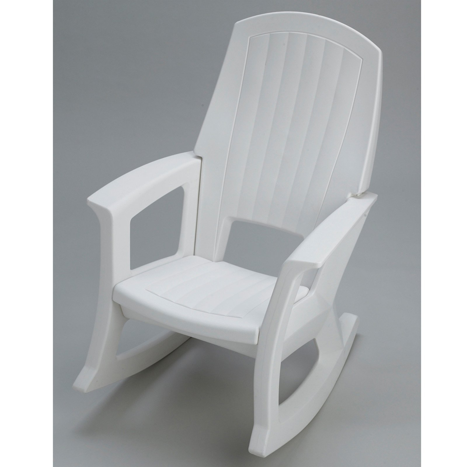 Semco Recycled Plastic Rocking Chair In Black Plastic Rocking Chairs (#20 of 20)