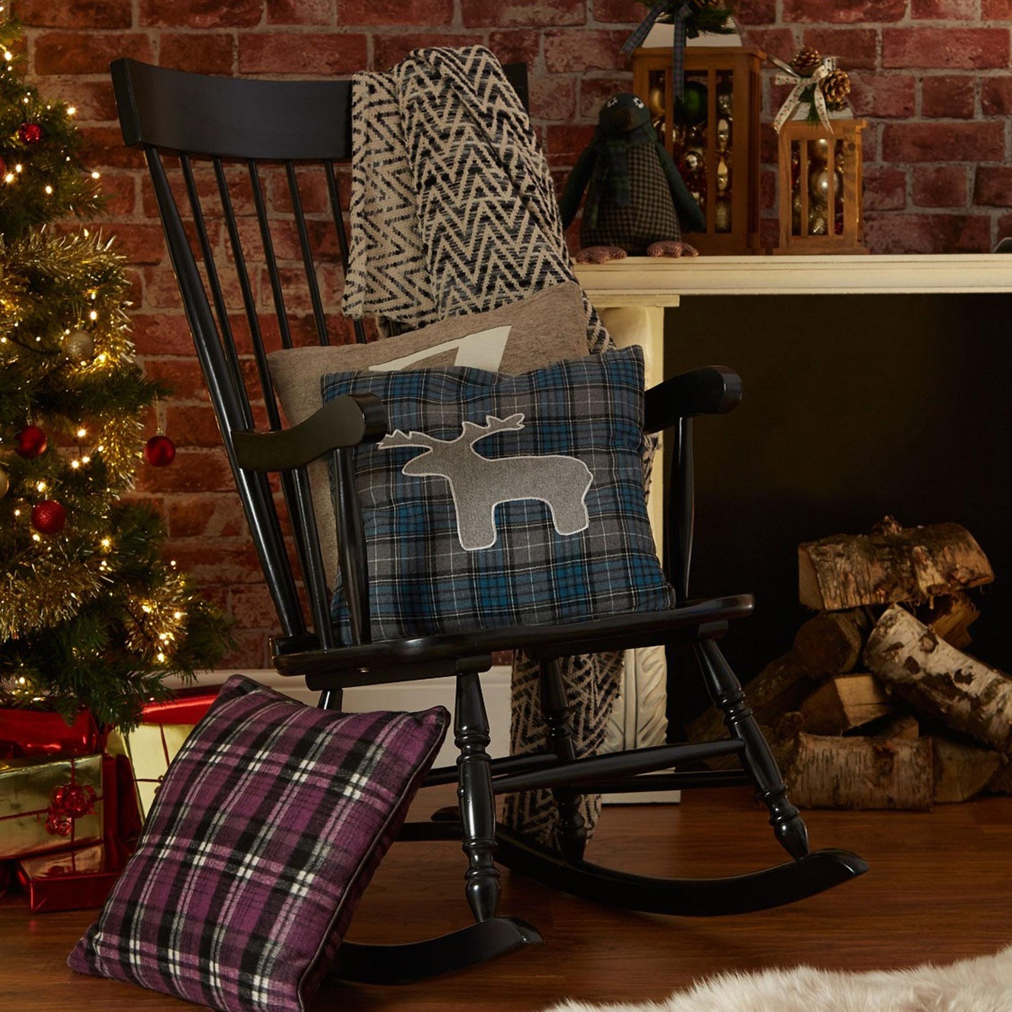 Slat Rocking Chair Throughout Black Rubberwood Rocking Chairs (#17 of 20)