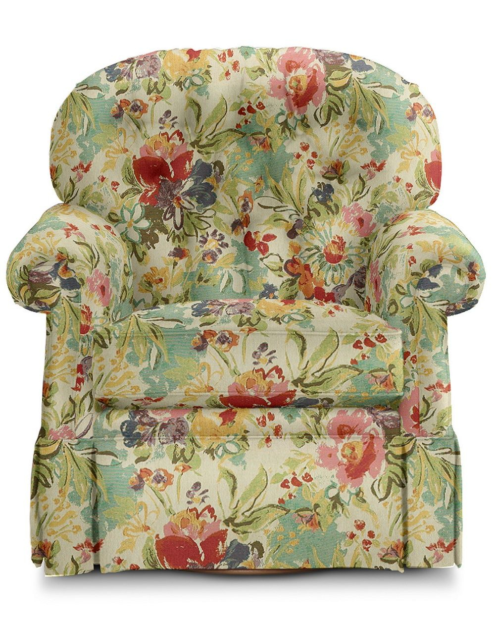 Small Is The New Big, And The Hampden Swivel Rocker Is Proof Regarding Ethel Country White Rocking Chairs (View 16 of 20)