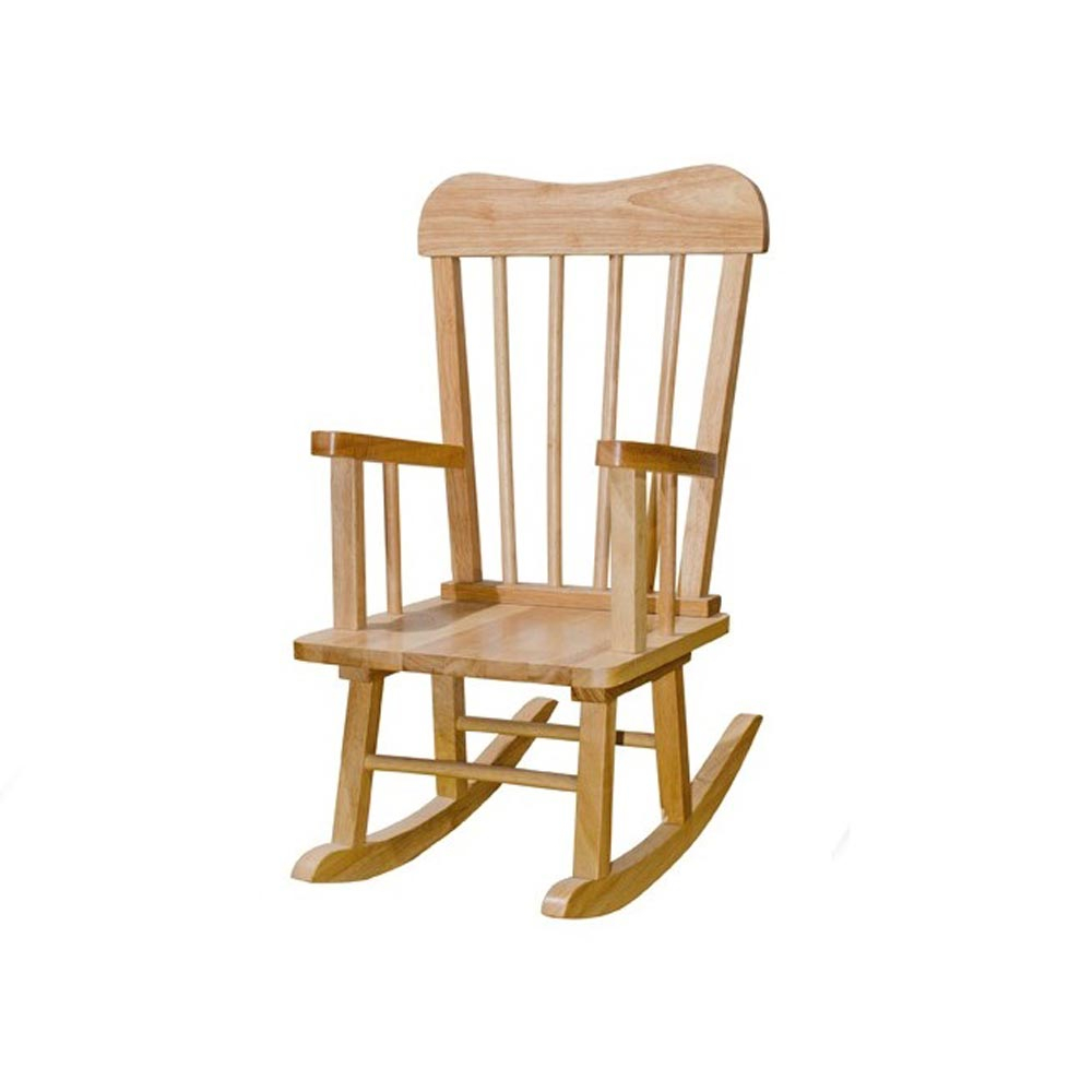 Solid Rubber Wood Rocking Chair For Black Rubberwood Rocking Chairs (#18 of 20)