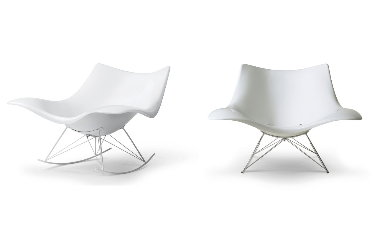 Stingray Lounge Chair For Rocking Chairs & Lounge Chairs In Grey (#19 of 20)