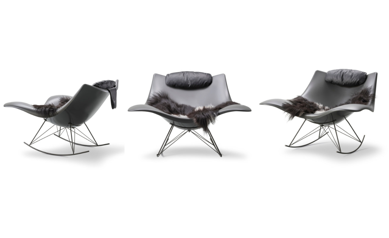 Stingray Lounge Chair With Rocking Chairs & Lounge Chairs In Grey (View 20 of 20)