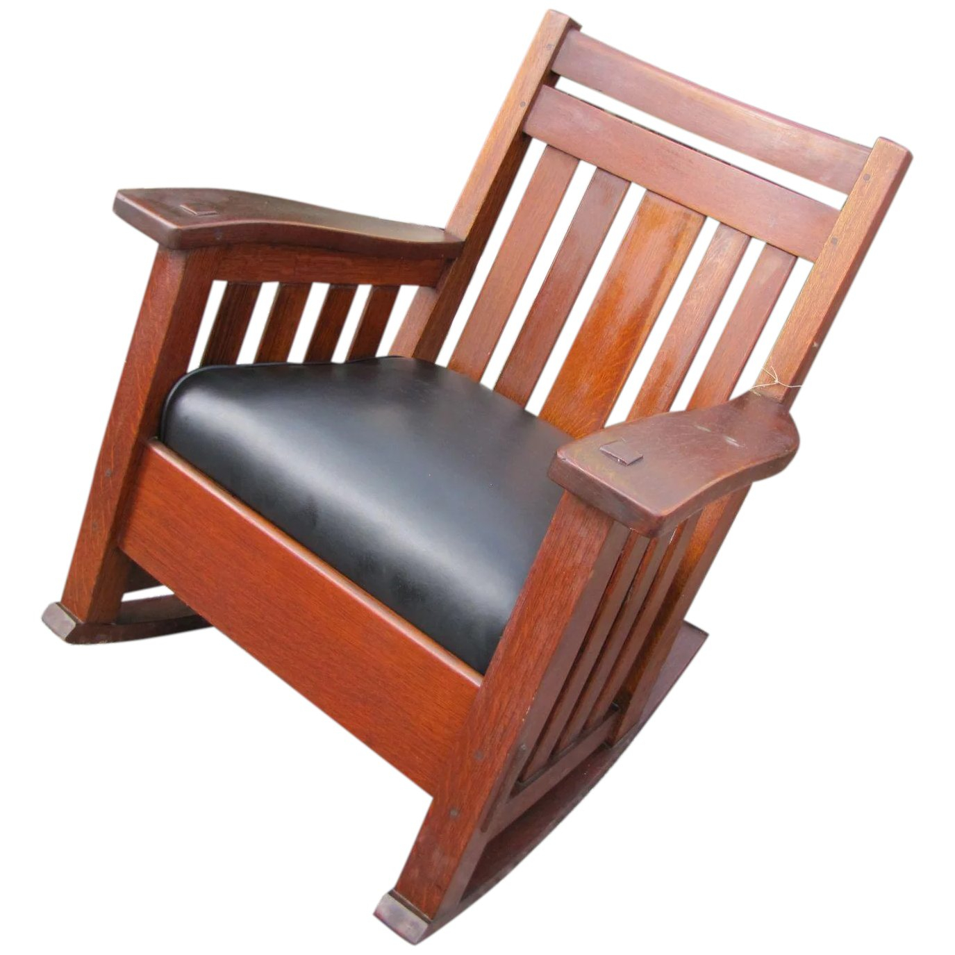 Superb Antique Harden Wavy Arm Large Rocking Chair W3045 Regarding Rosewood Traditional Dark Oak Rocking Accent Chairs (View 18 of 20)