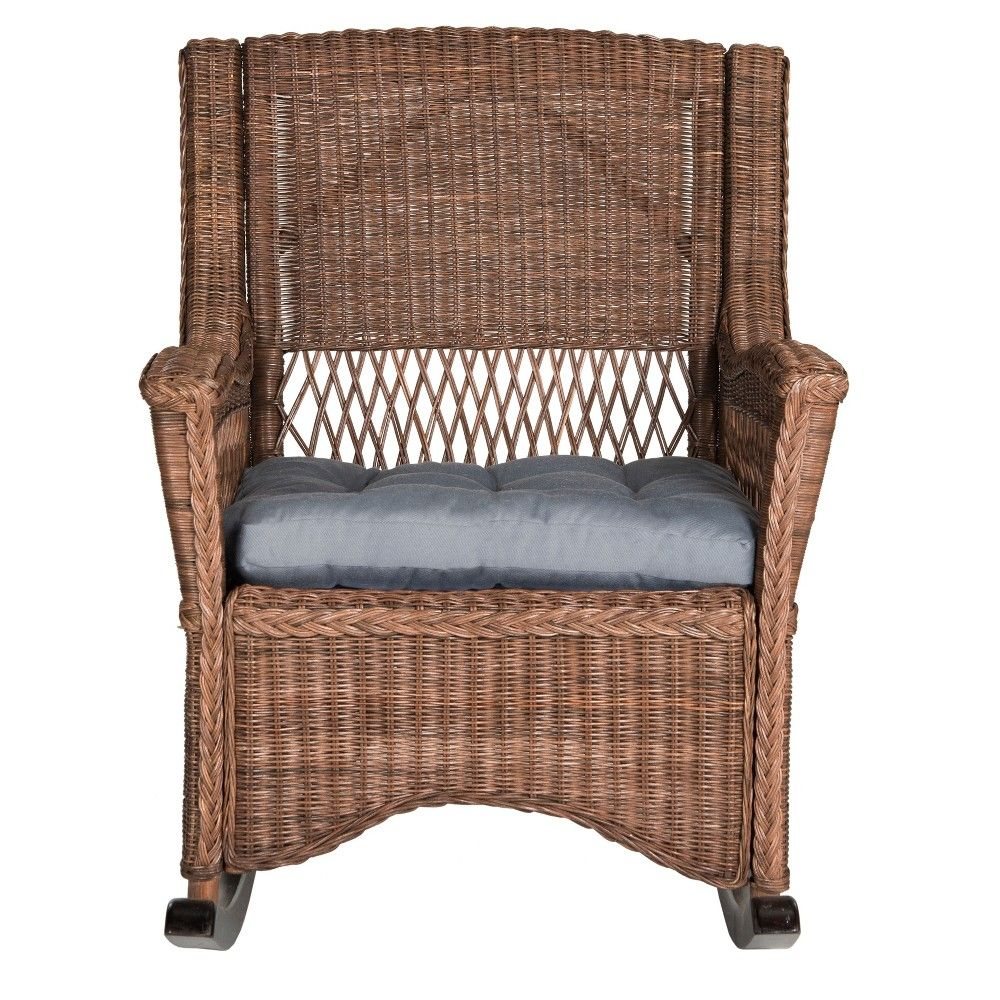 Inspiration about The Casual Class Of Beachfront Porch Furniture Goes Mobile Inside Aria Antique Grey Rocking Chairs (#11 of 20)