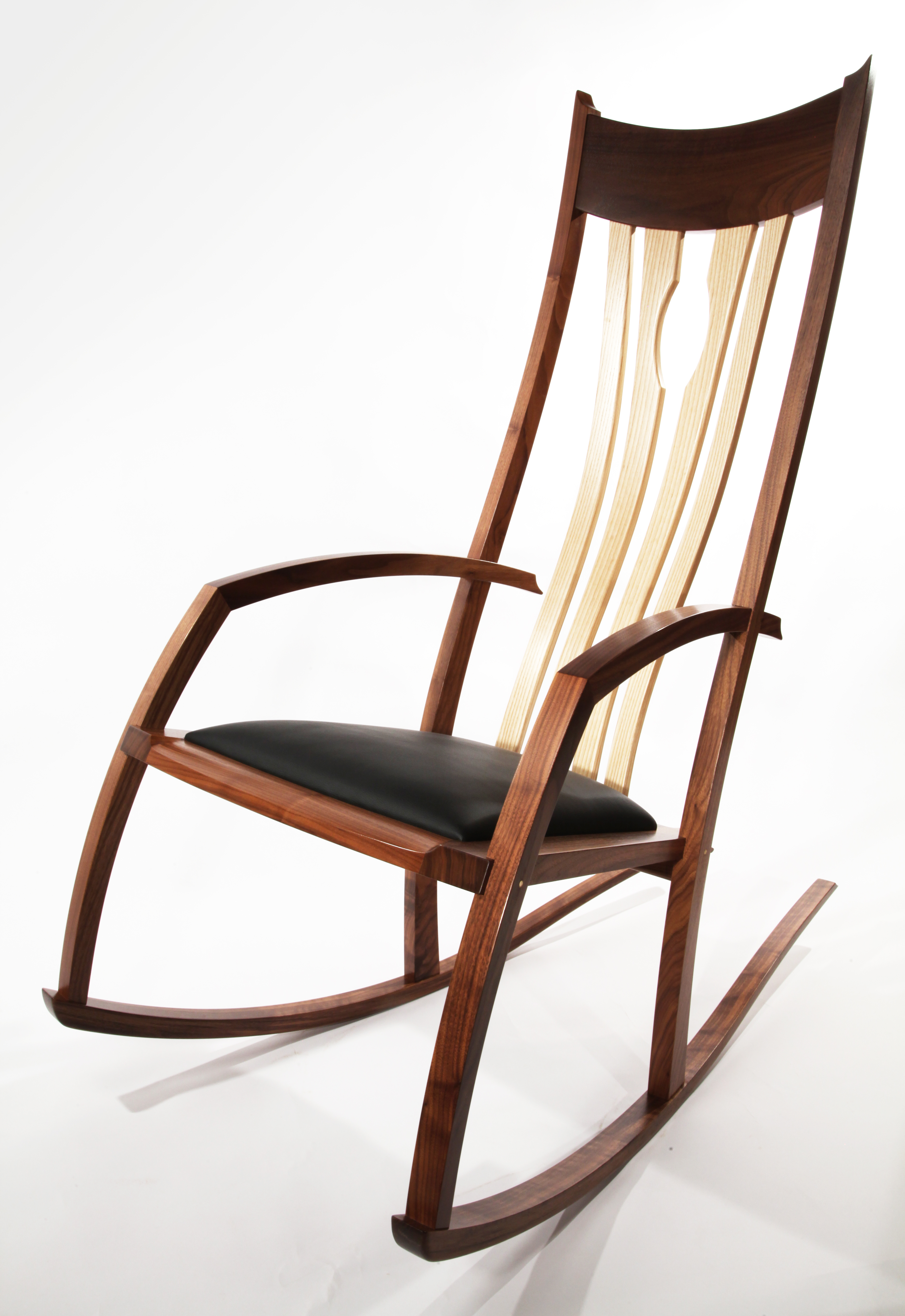 The Morley Rocker – Walnut – Philip Morley Furniture With Regard To Dark Walnut Rocking Chairs (View 20 of 20)