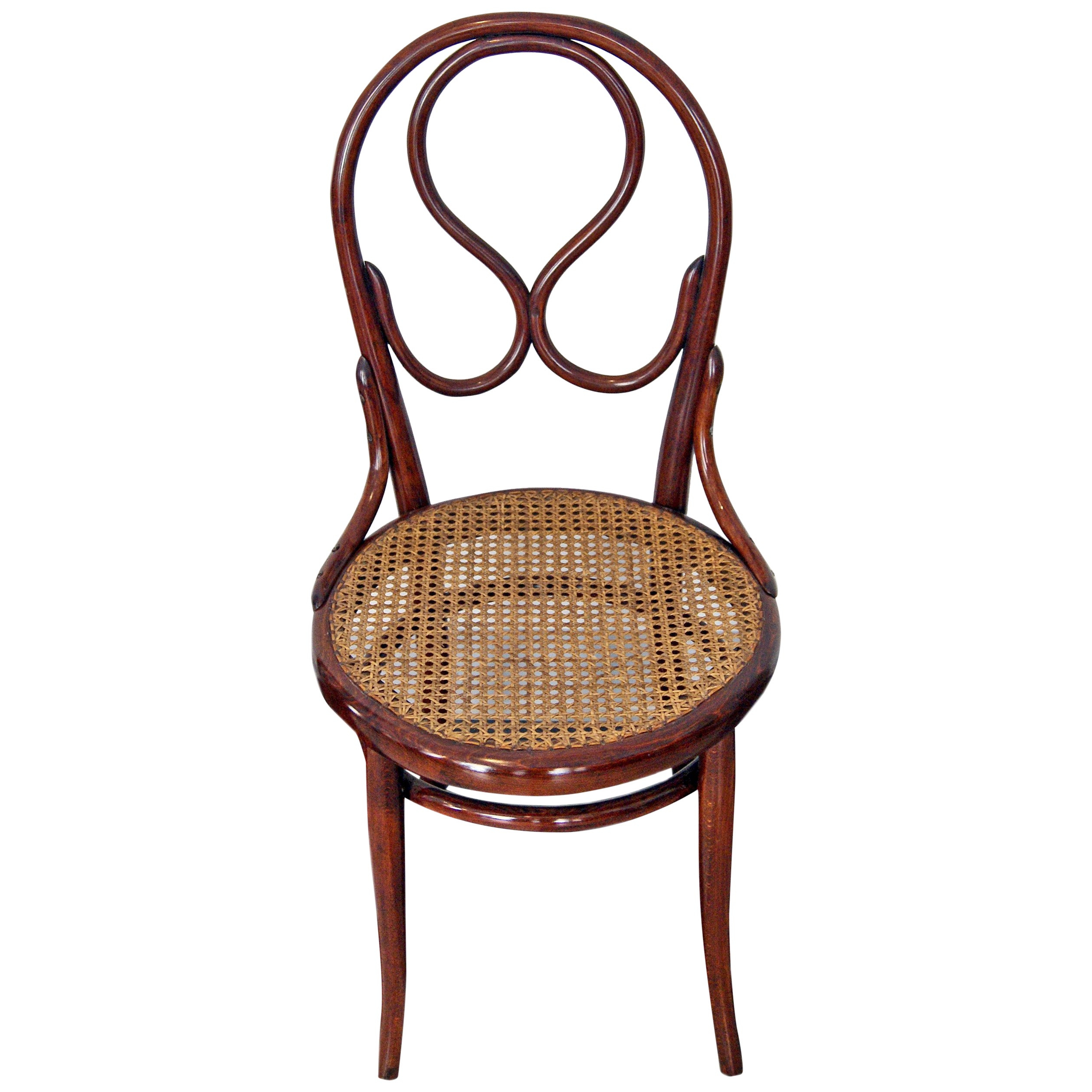 Inspiration about Thonet Vienna Art Nouveau Chair Model 20 Made Circa 1880 For Dover Bentwood Rocking Chairs (#4 of 20)
