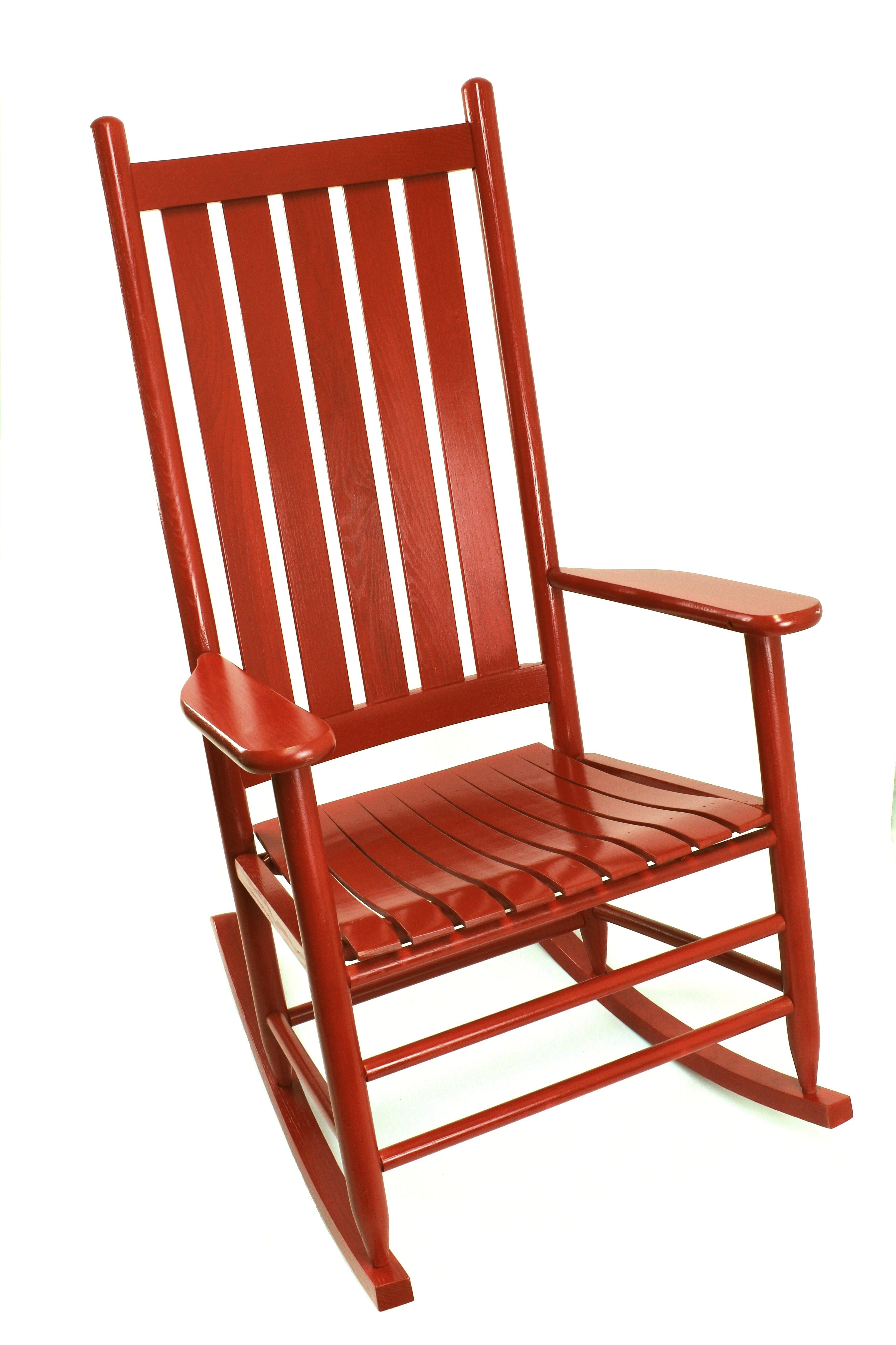 Inspiration about Thor Rocking Chair With Warm Brown Slat Back Rocking Chairs (#5 of 20)