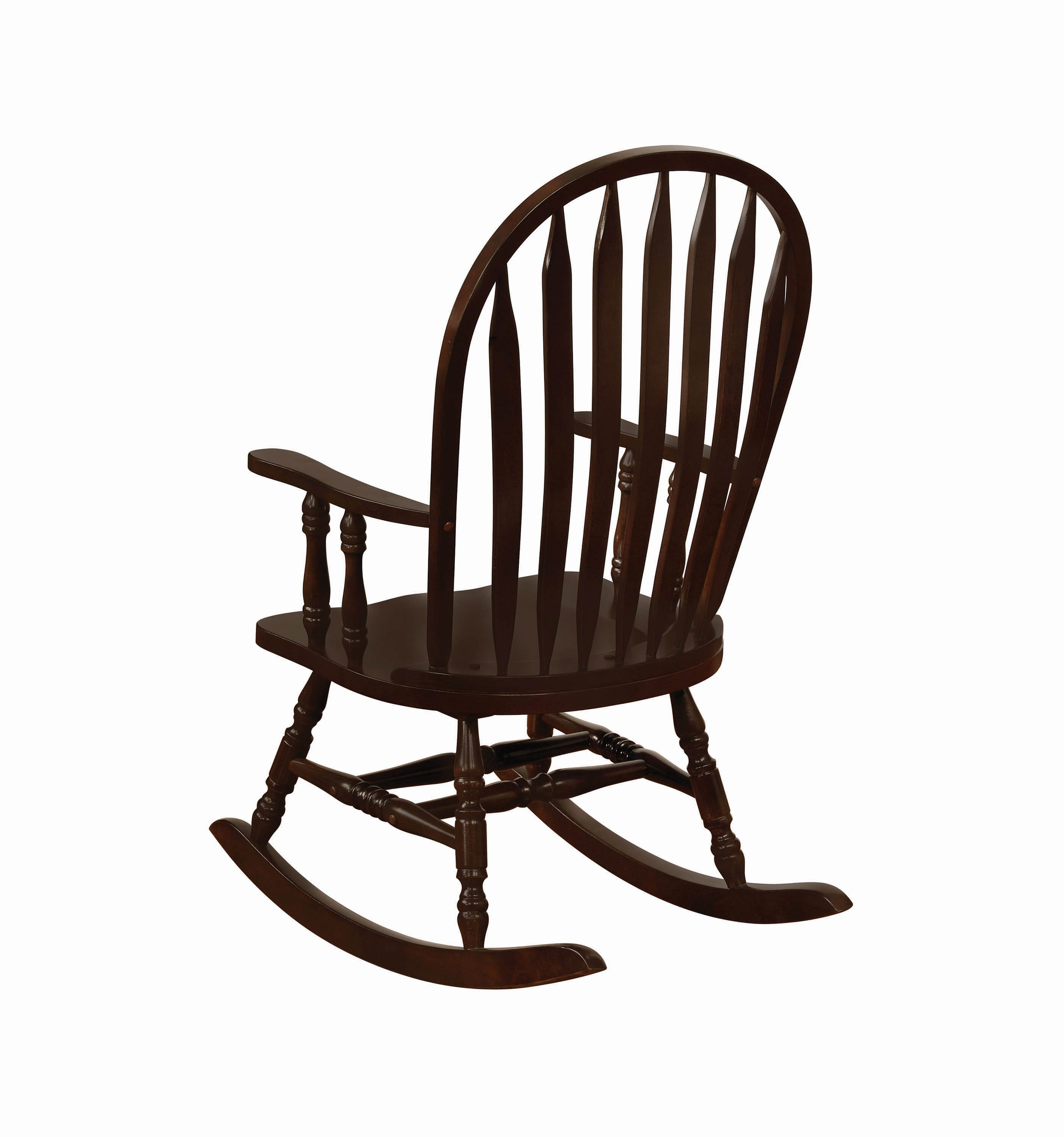 Inspiration about Traditional Rocking Chair – Coaster Fine Furniture Inside Cappuccino Curved Rocking Chairs (#4 of 20)