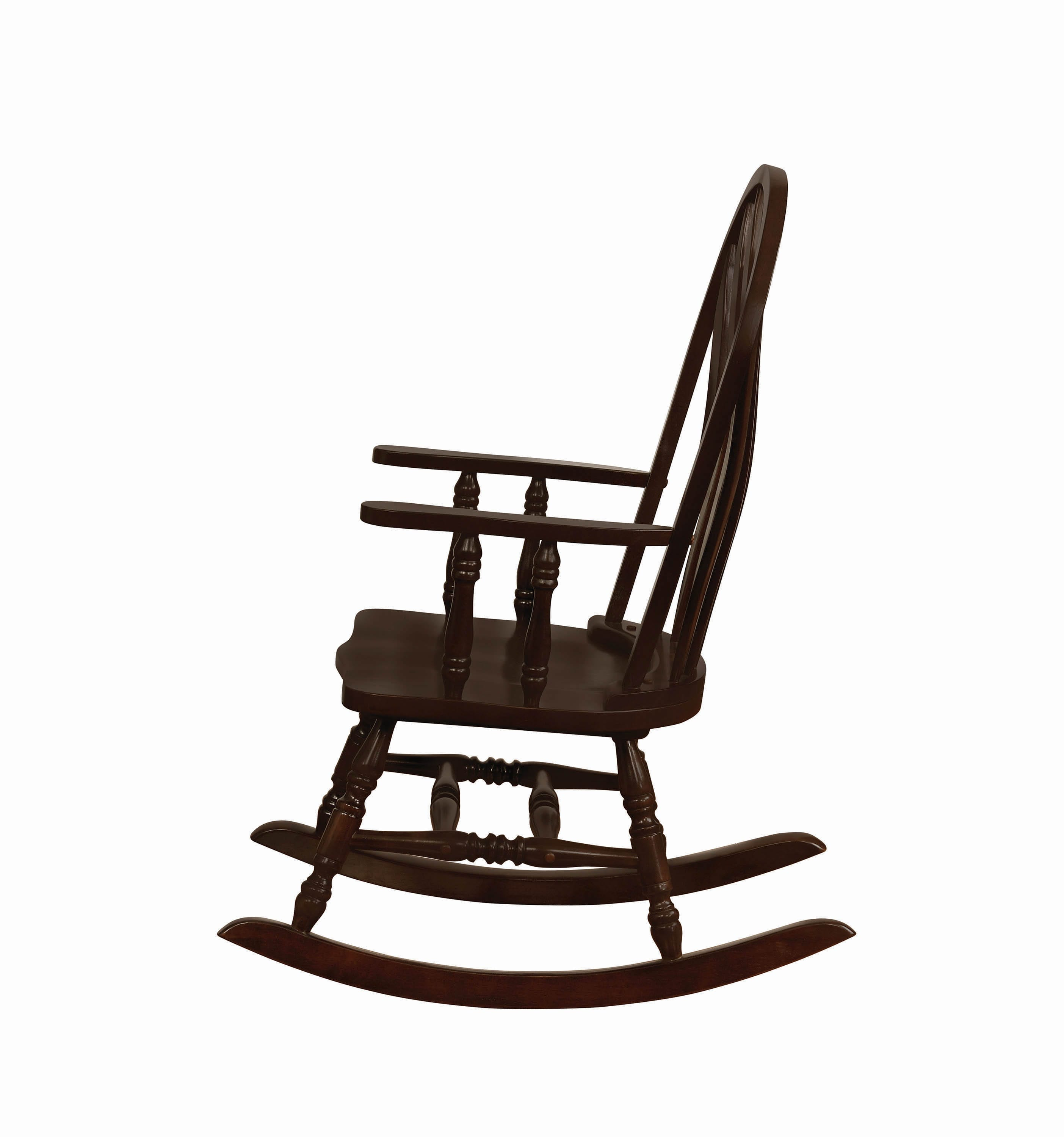 Inspiration about Traditional Rocking Chair – Coaster Fine Furniture With Cappuccino Curved Rocking Chairs (#15 of 20)