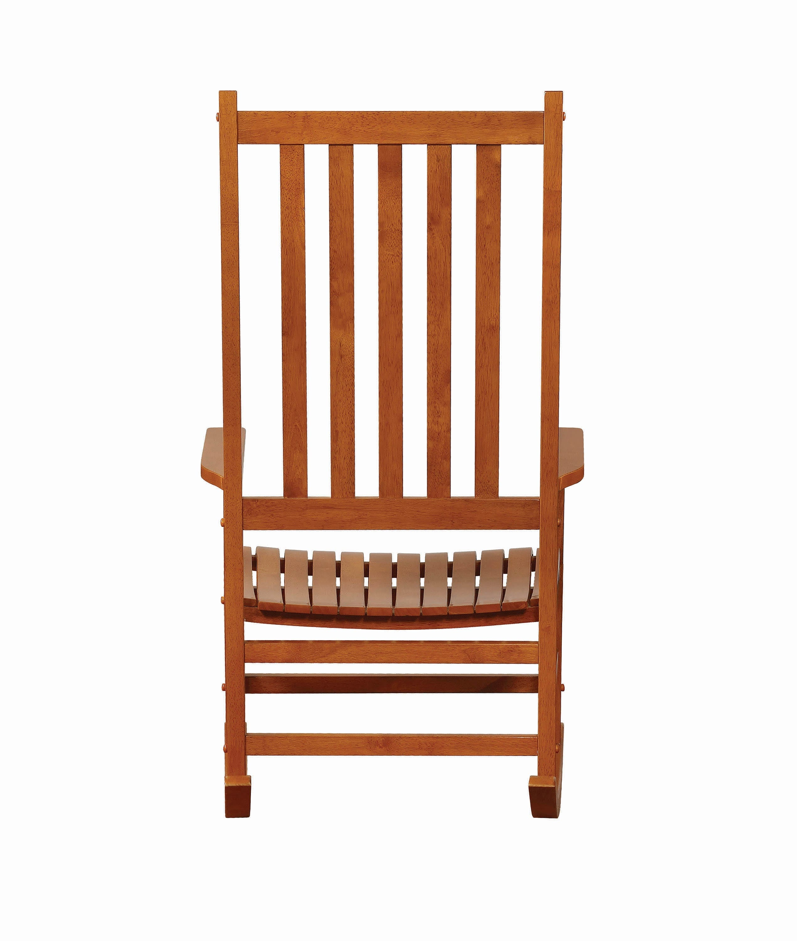 Inspiration about Traditional Wood Rocking Chair – Coaster Fine Furniture Regarding Warm Brown Slat Back Rocking Chairs (#7 of 20)