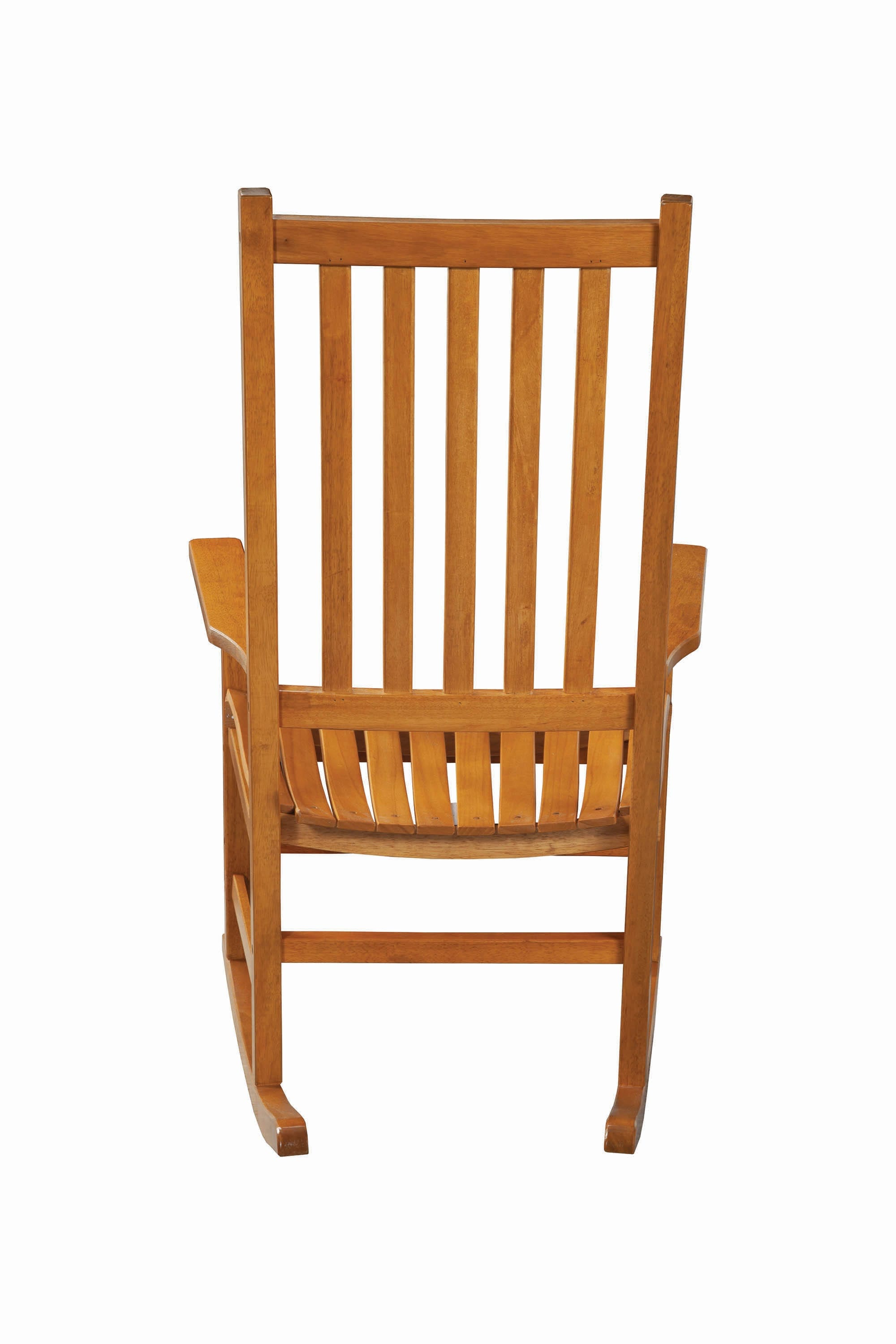 Inspiration about Traditional Wood Rocking Chair – Coaster Fine Furniture With Regard To Warm Brown Slat Back Rocking Chairs (#10 of 20)