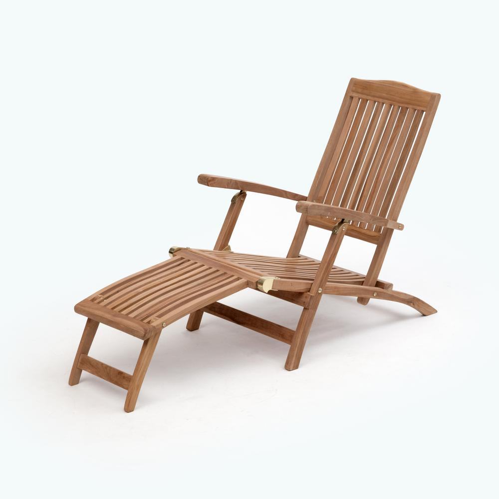 Inspiration about Transcontinential Group Bali Brown Folding Teak Outdoor Lounge Chair 1 Within Bali Brown Rocking Chairs (#17 of 20)