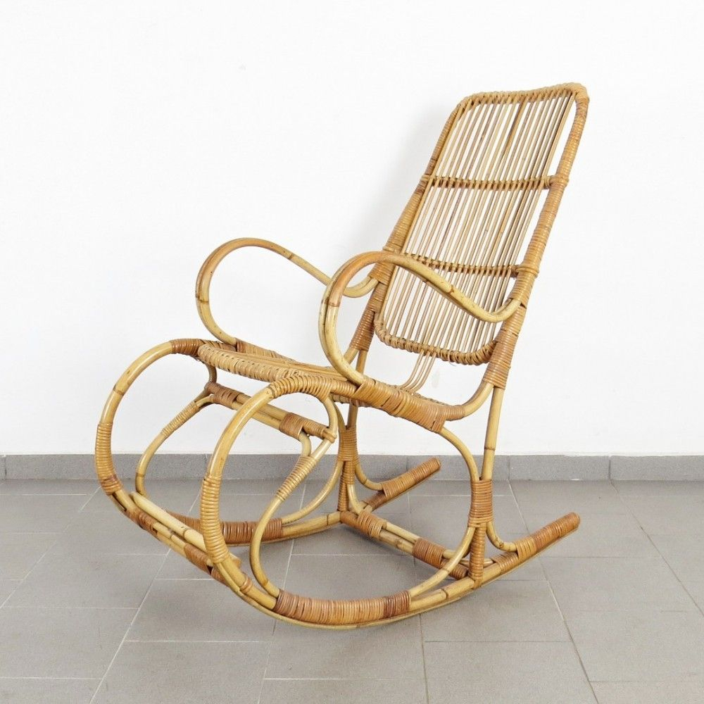 Inspiration about Vintage Rocking Chair, 1970S In 2019 | 711 – 18 With Dover Bentwood Rocking Chairs (#7 of 20)