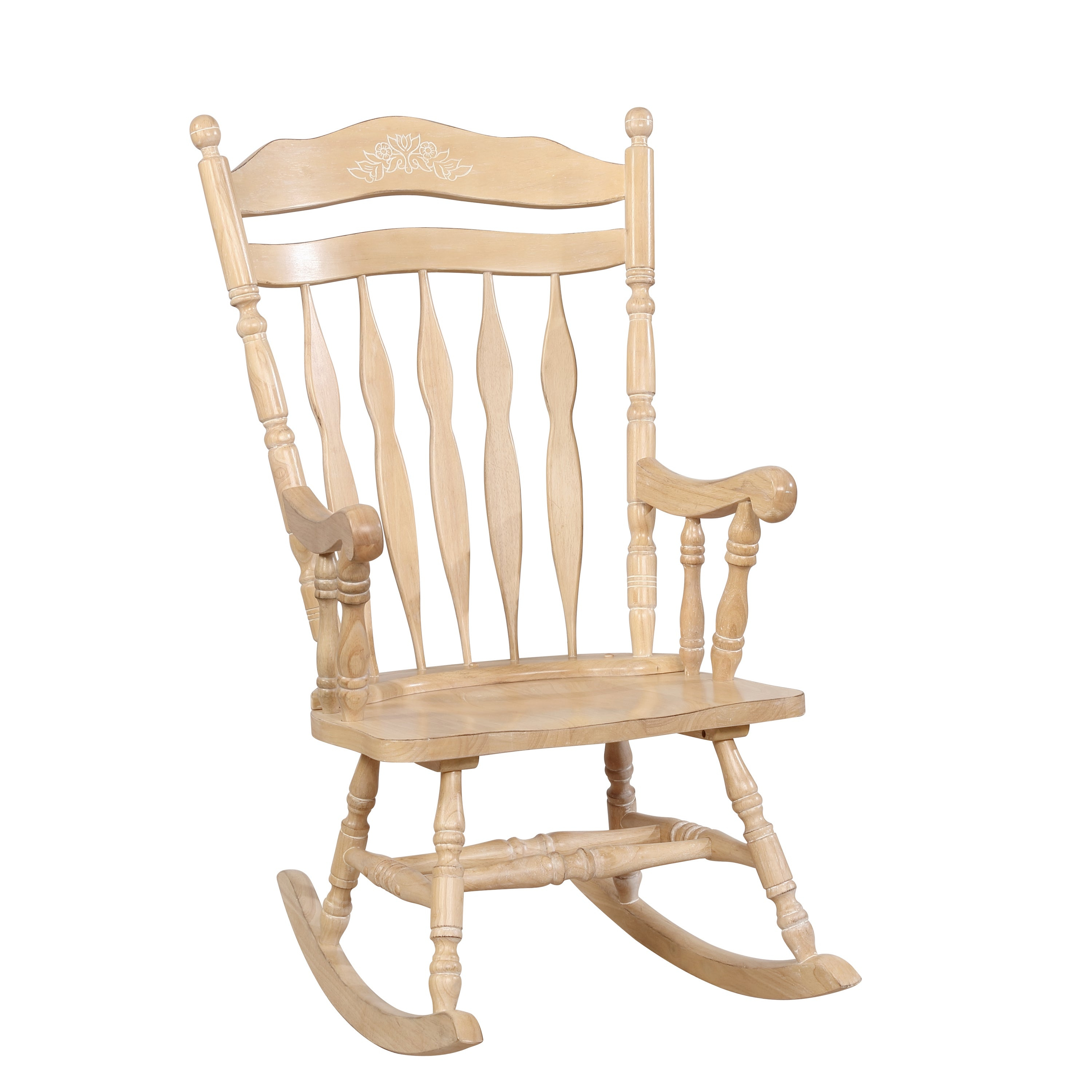 Inspiration about Viola Country Rocking Chairfoa Inside Madrone Windsor Country Style Rocking Chairs (#2 of 20)