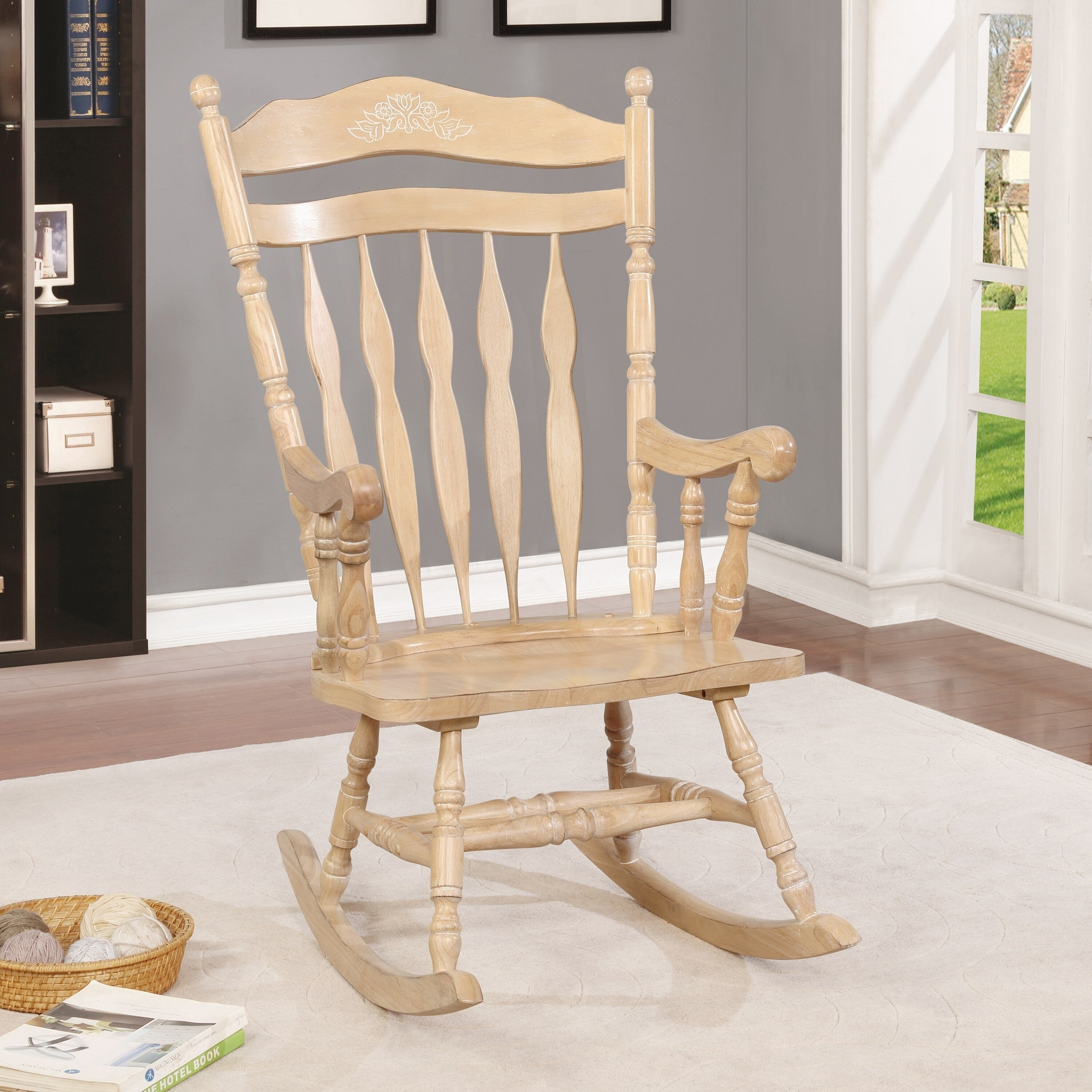 Inspiration about Viola Country Rocking Chairfoa Throughout Ethel Country White Rocking Chairs (#7 of 20)