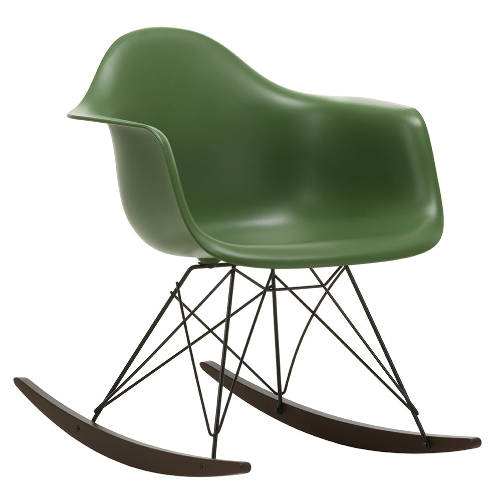 Inspiration about Vitra Eames Rar Rocking Chair In Plastic Arm Chairs With Rocking Legs (#14 of 20)