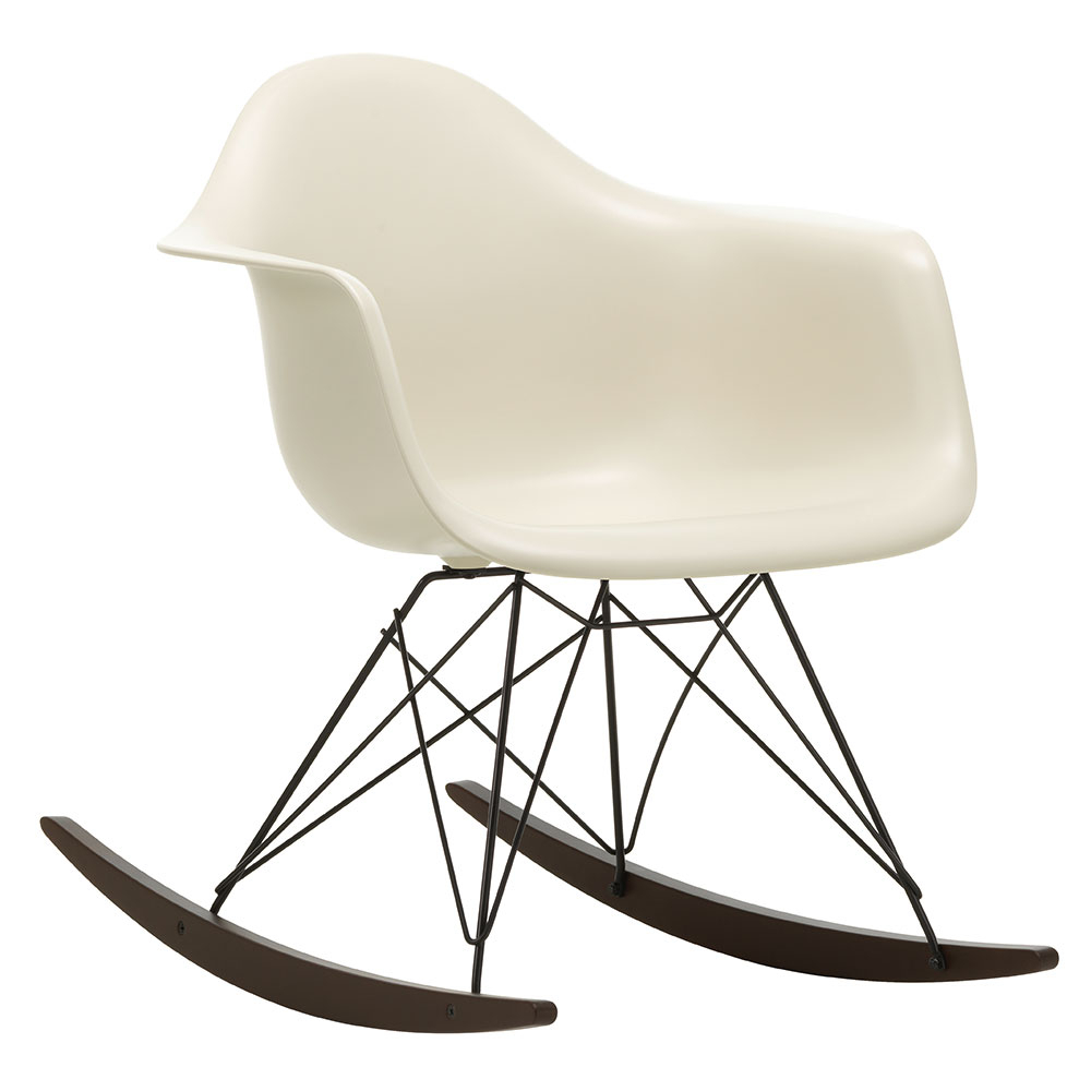 Inspiration about Vitra Eames Rar Rocking Chair Pertaining To Plastic Arm Chairs With Rocking Legs (#9 of 20)