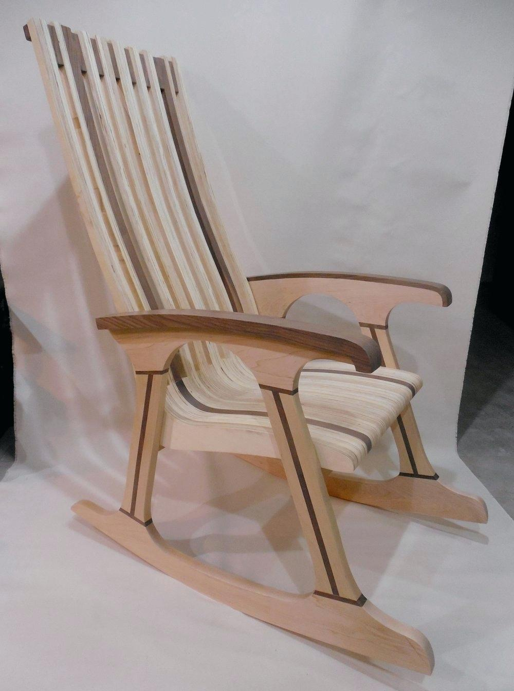 Walnut Rocking Chair – Onewaytheatre (View 18 of 20)