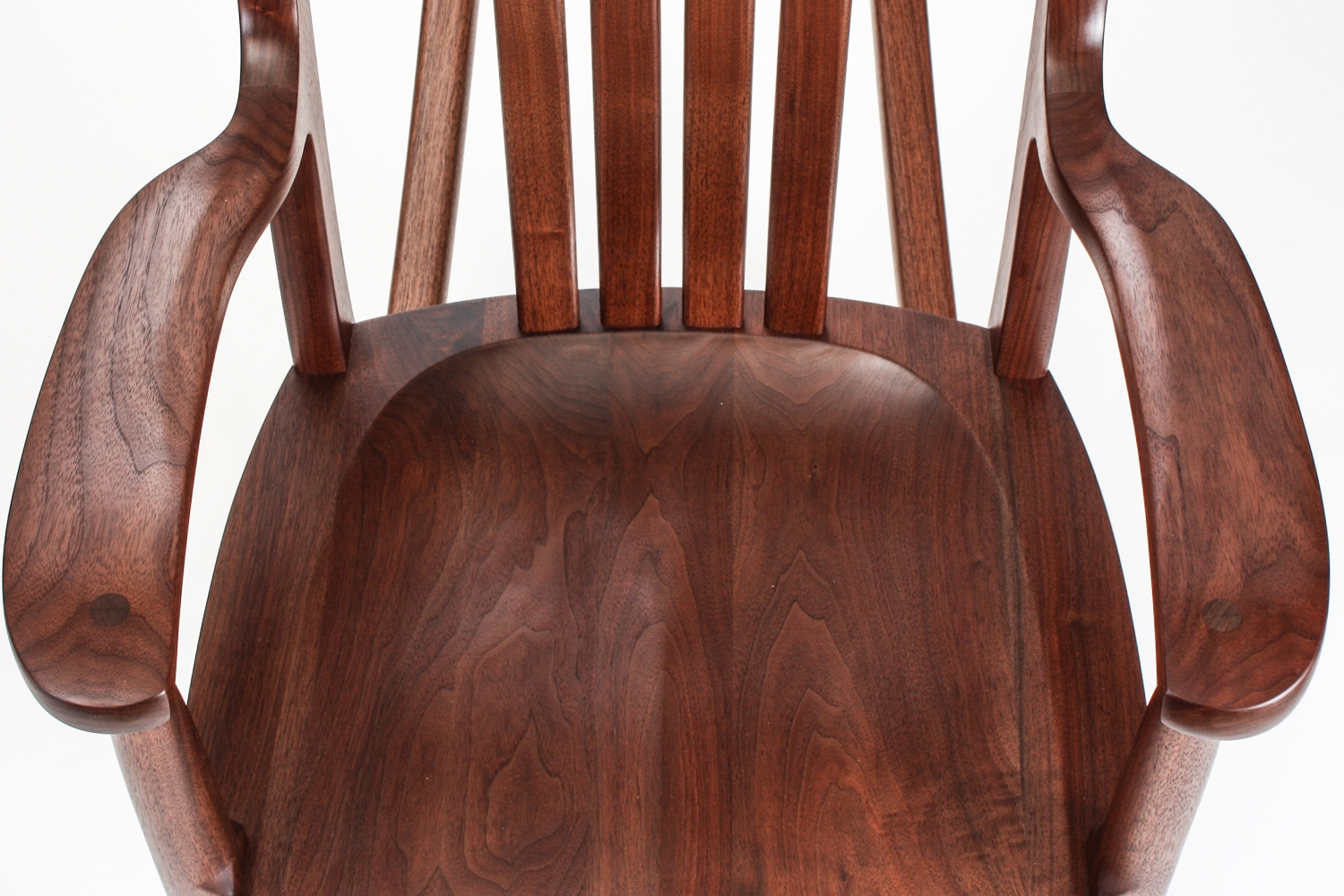 Walnut Rocking Chairs | Comfortable, Handmade, Heirloom For Dark Walnut Rocking Chairs (View 9 of 20)