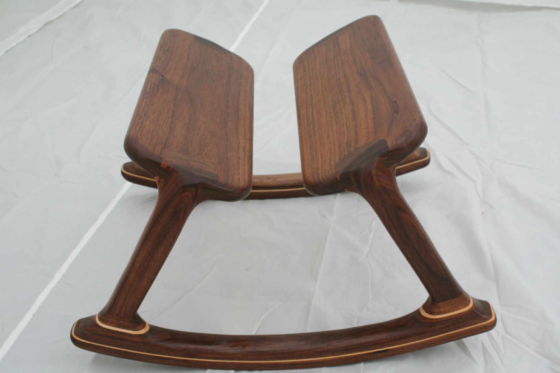 Inspiration about Walnut Rocking Footstool – Shipping Included For Walnut Wood Rocking Chairs (#13 of 20)